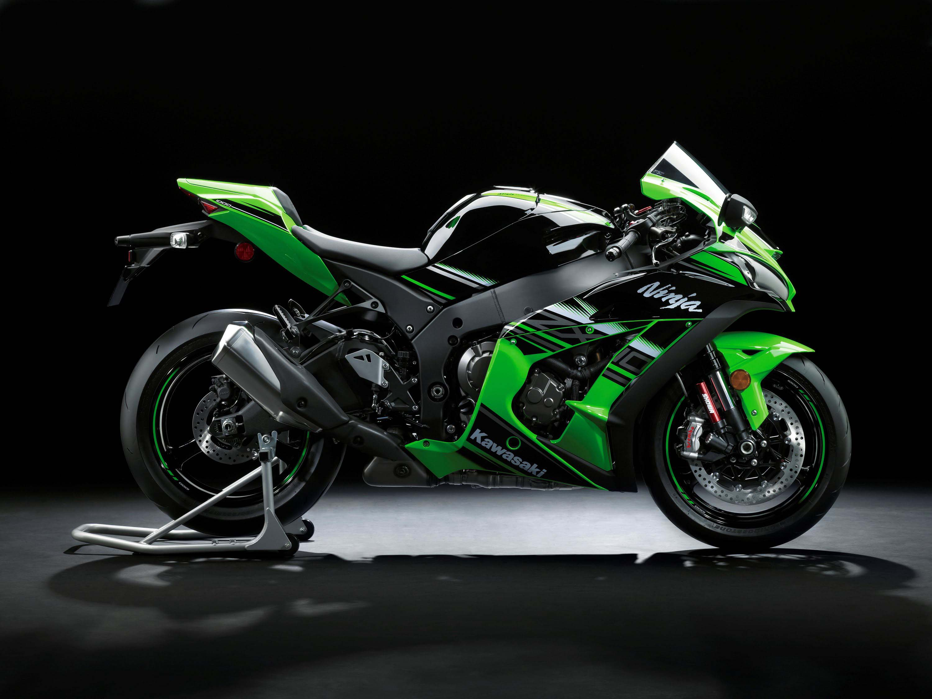 here's a walk-around of the 2016 kawasaki ninja zx-10r