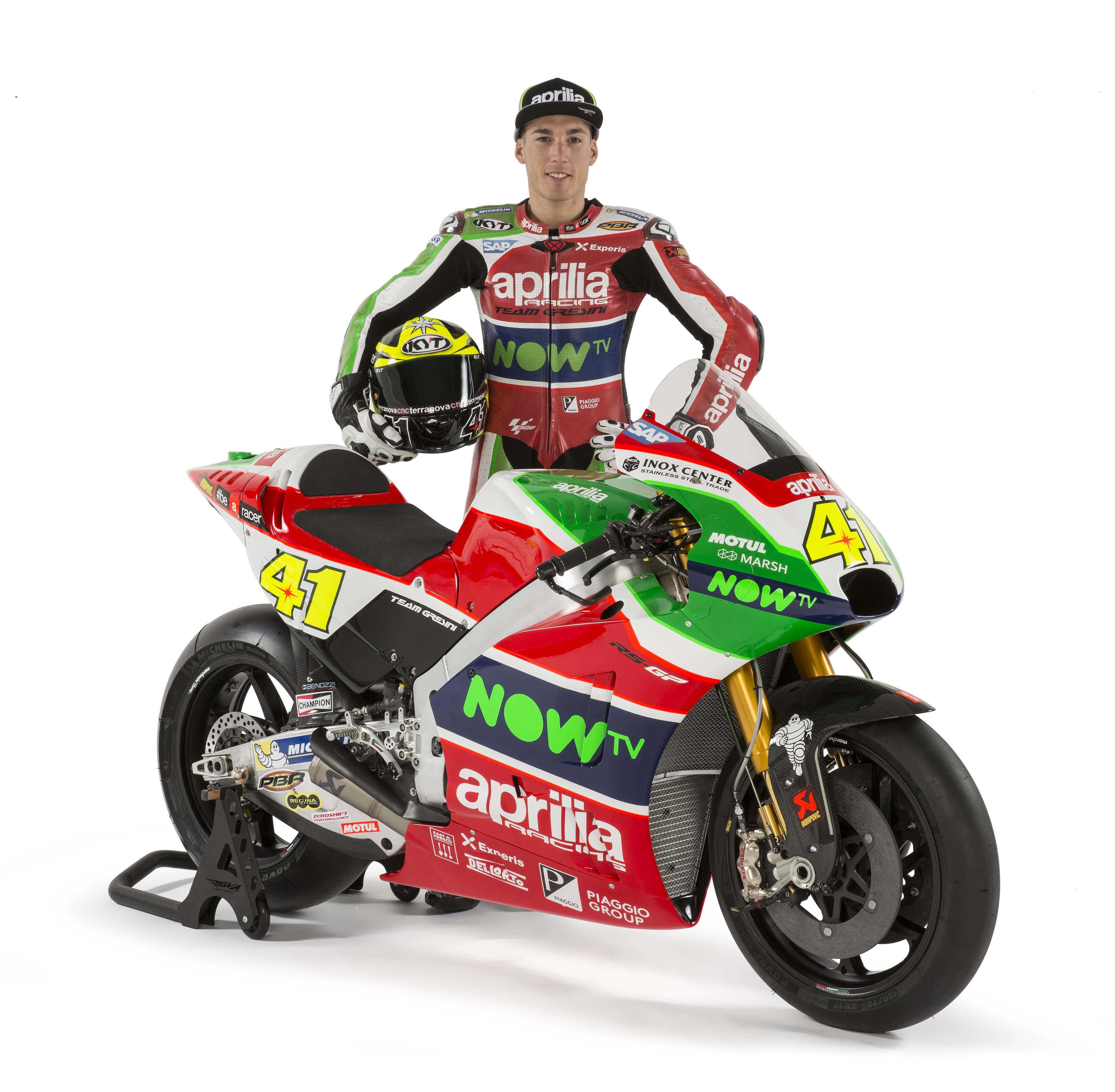 2016 Aprilia RS-GP Gets All Dressed Up for MotoGP