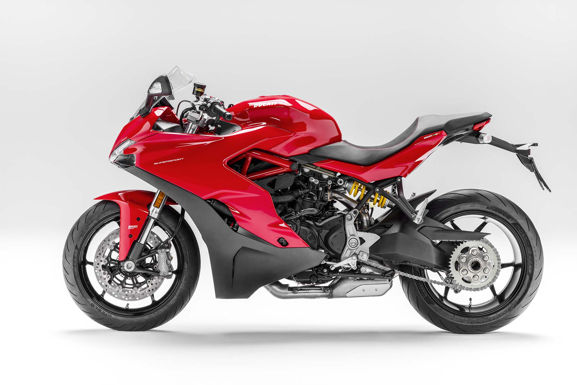 2017 ducati supersport - the sport bike returns - asphalt & rubber