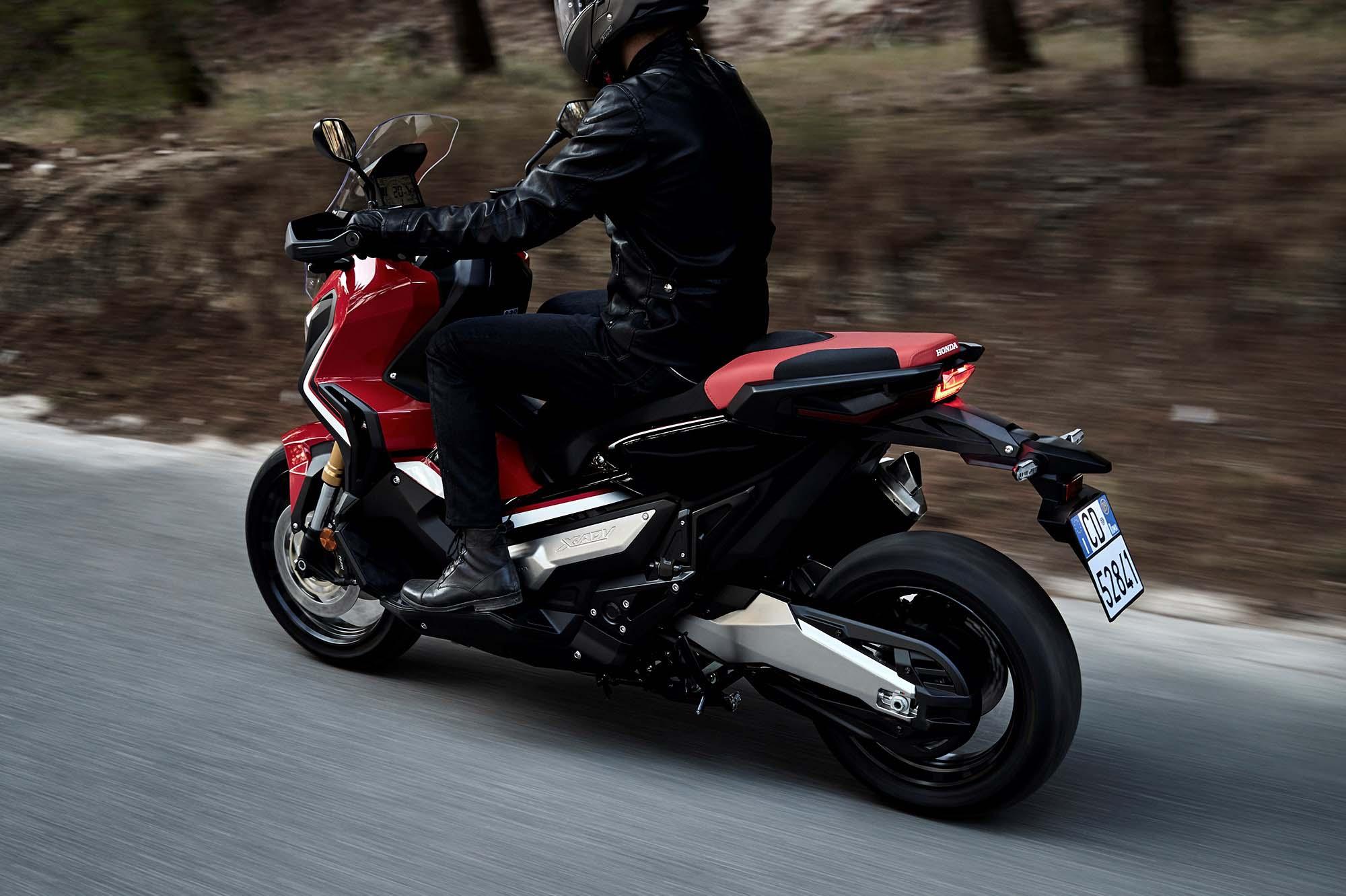 Скутер Honda adv #9