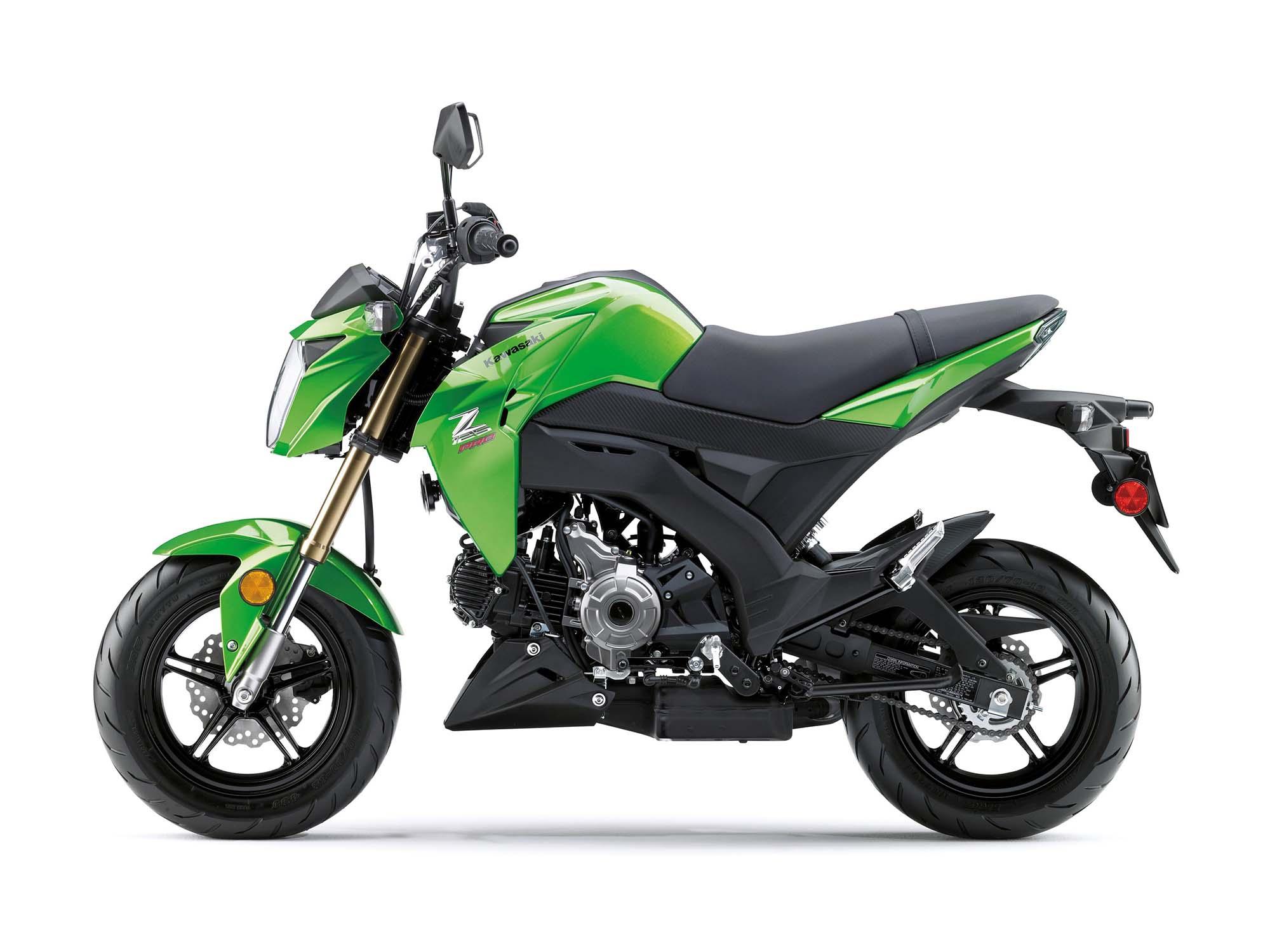 2017 Kawasaki Z125 Pro Pocket Sized Fun