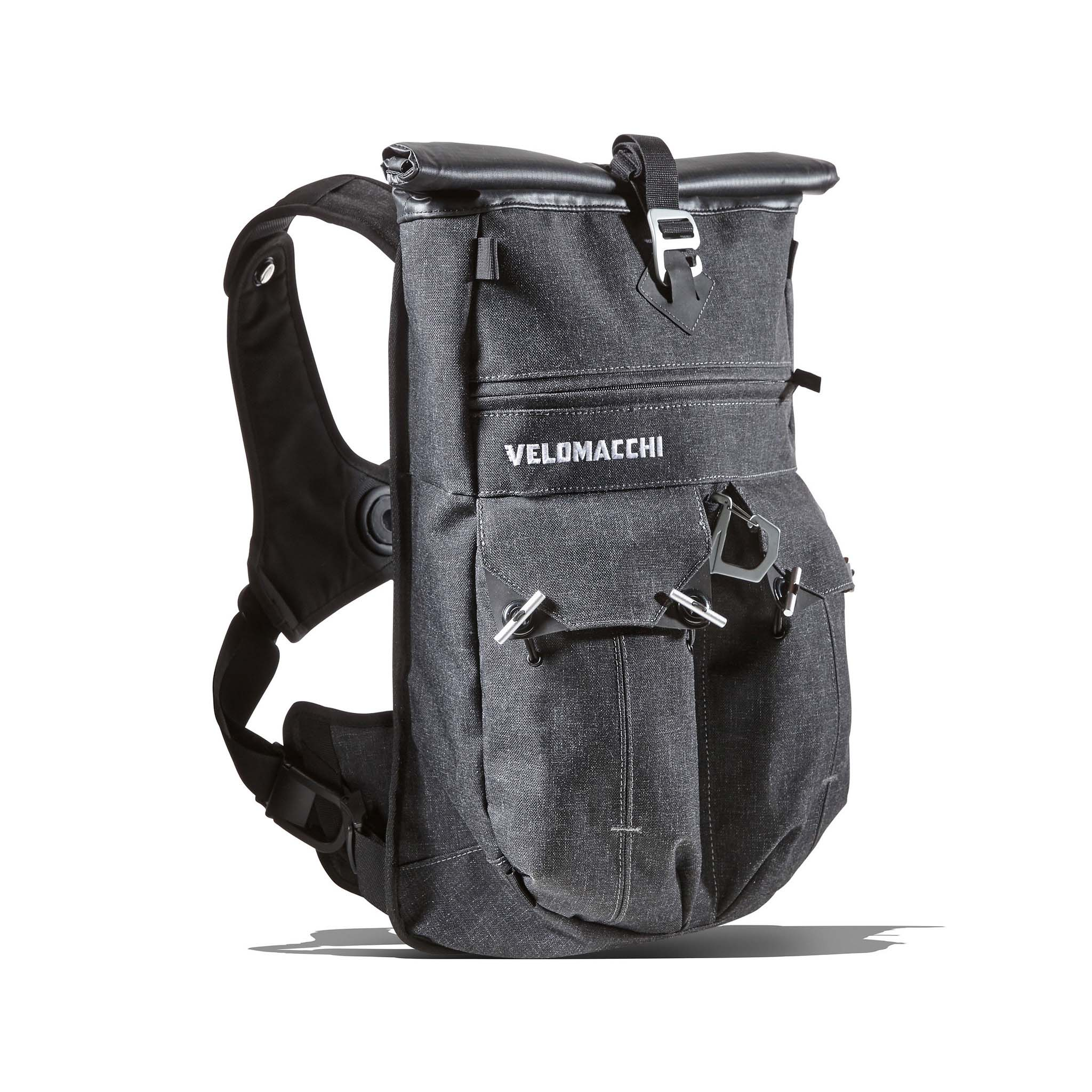 Motorcycle gloves with id pocket - Velomacchi Speeway Backpack 02
