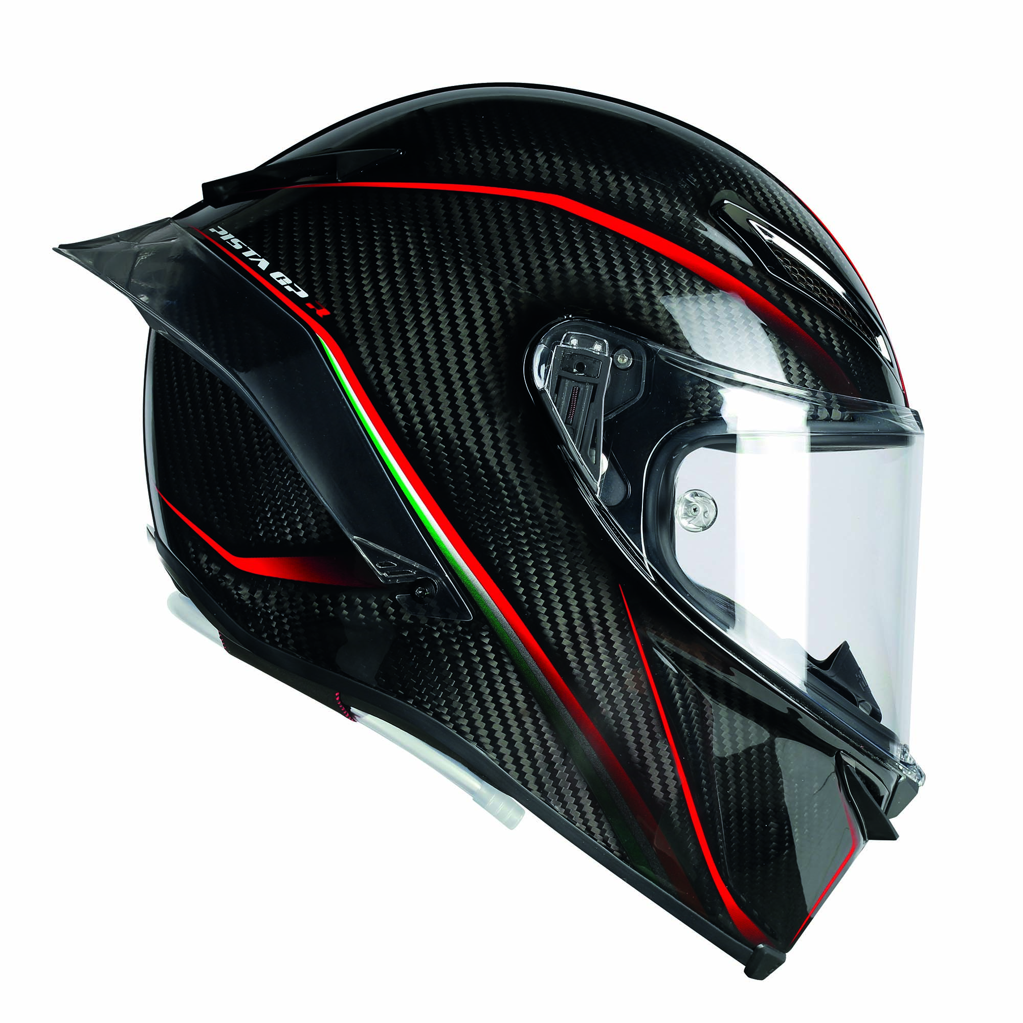 Alpinestars Motorcycle Jacket >> AGV Pista GP R Helmet Debuts with Hydration Channel