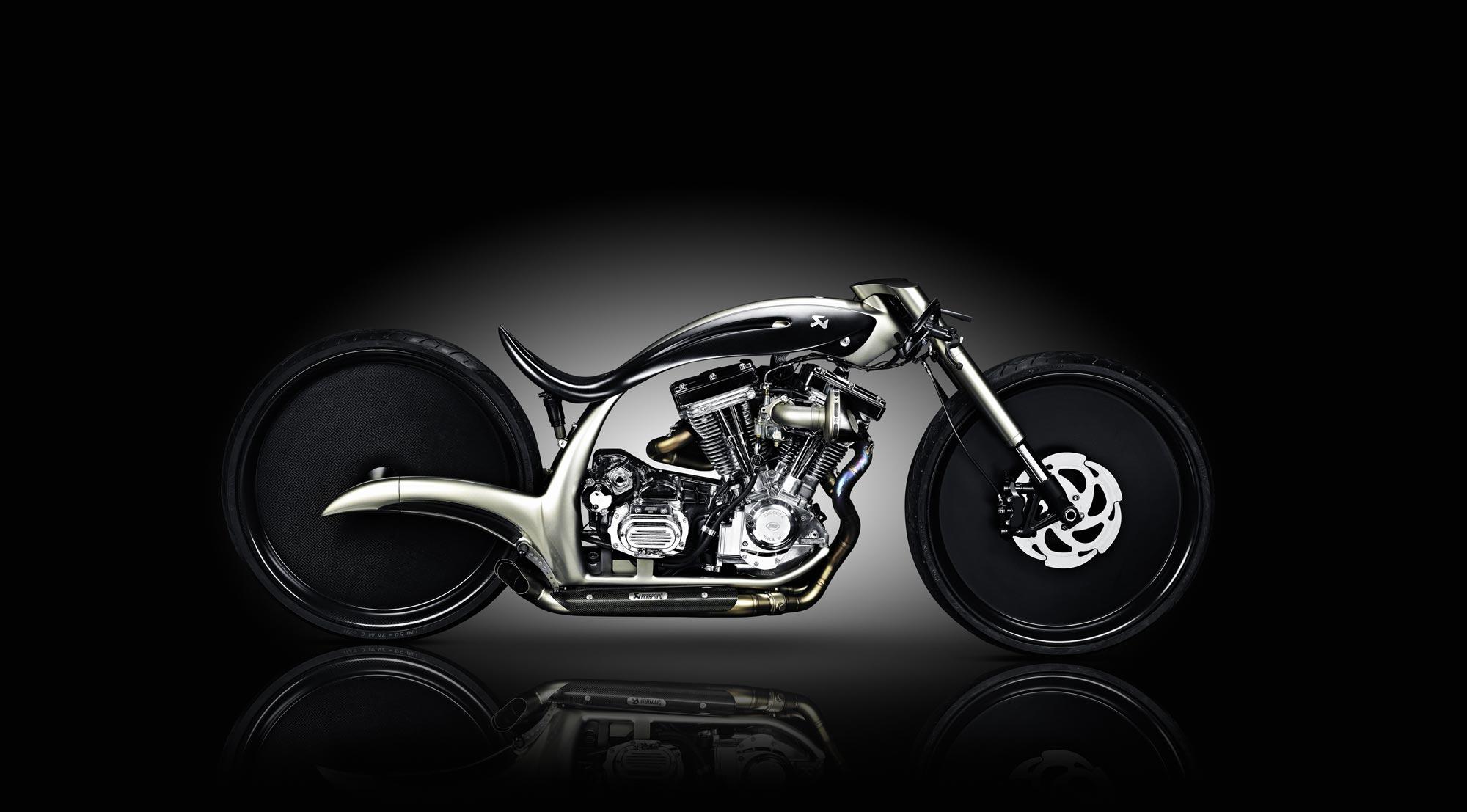 Akrapovič Morsus Custom Motorcycle Asphalt Amp Rubber