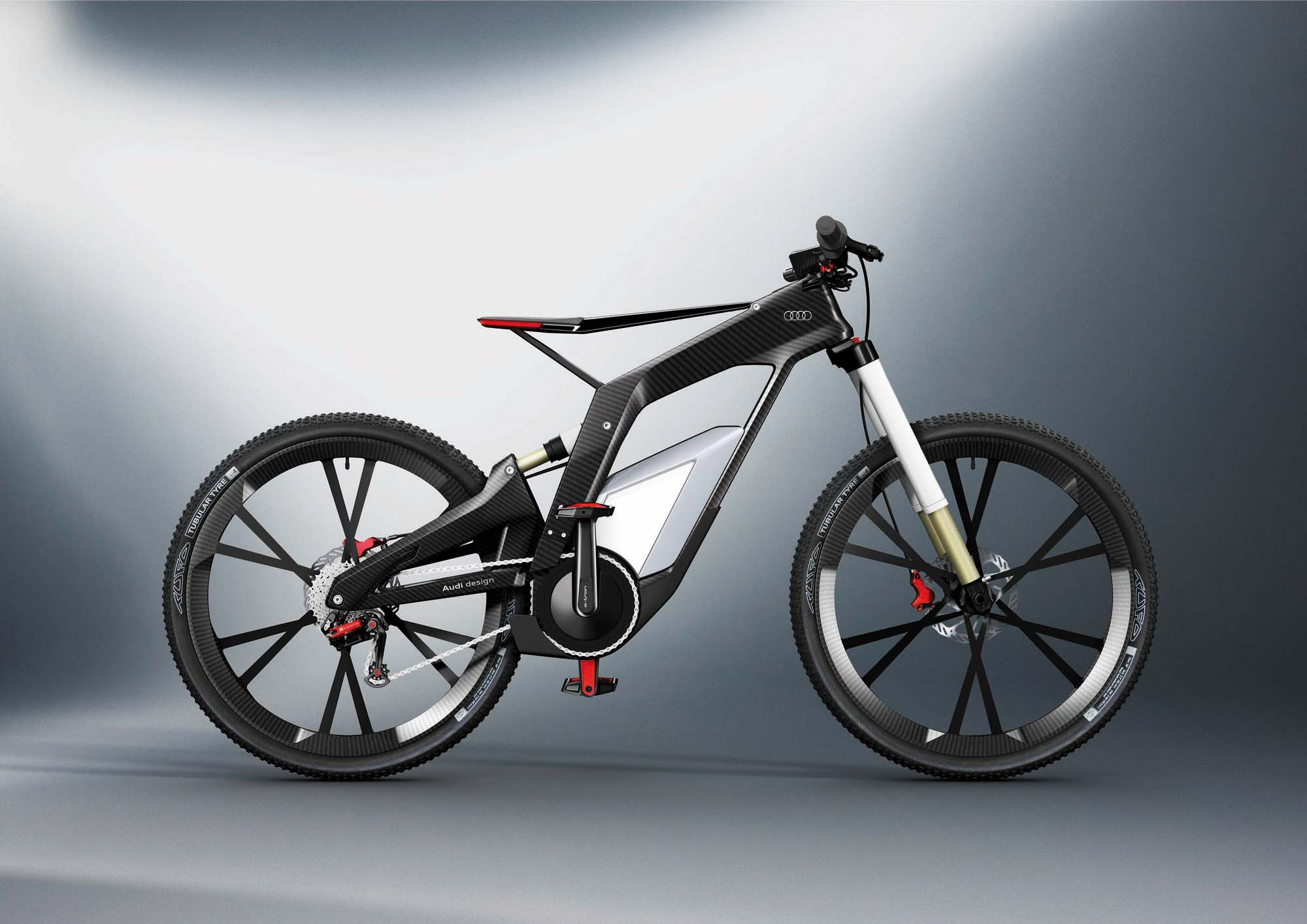 audi e bike w rthersee more than an electric bicycle asphalt rubber. Black Bedroom Furniture Sets. Home Design Ideas