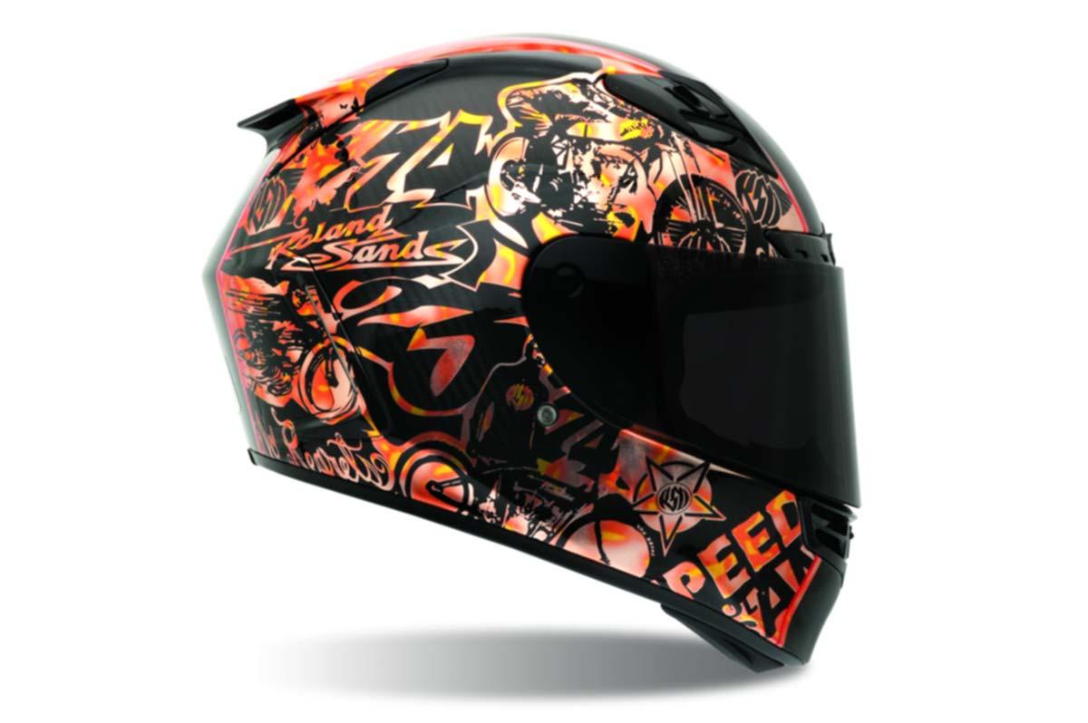 Carbon Fiber Motorcycle Helmets >> Roland Sands Talks about Bell Helmets - Asphalt & Rubber