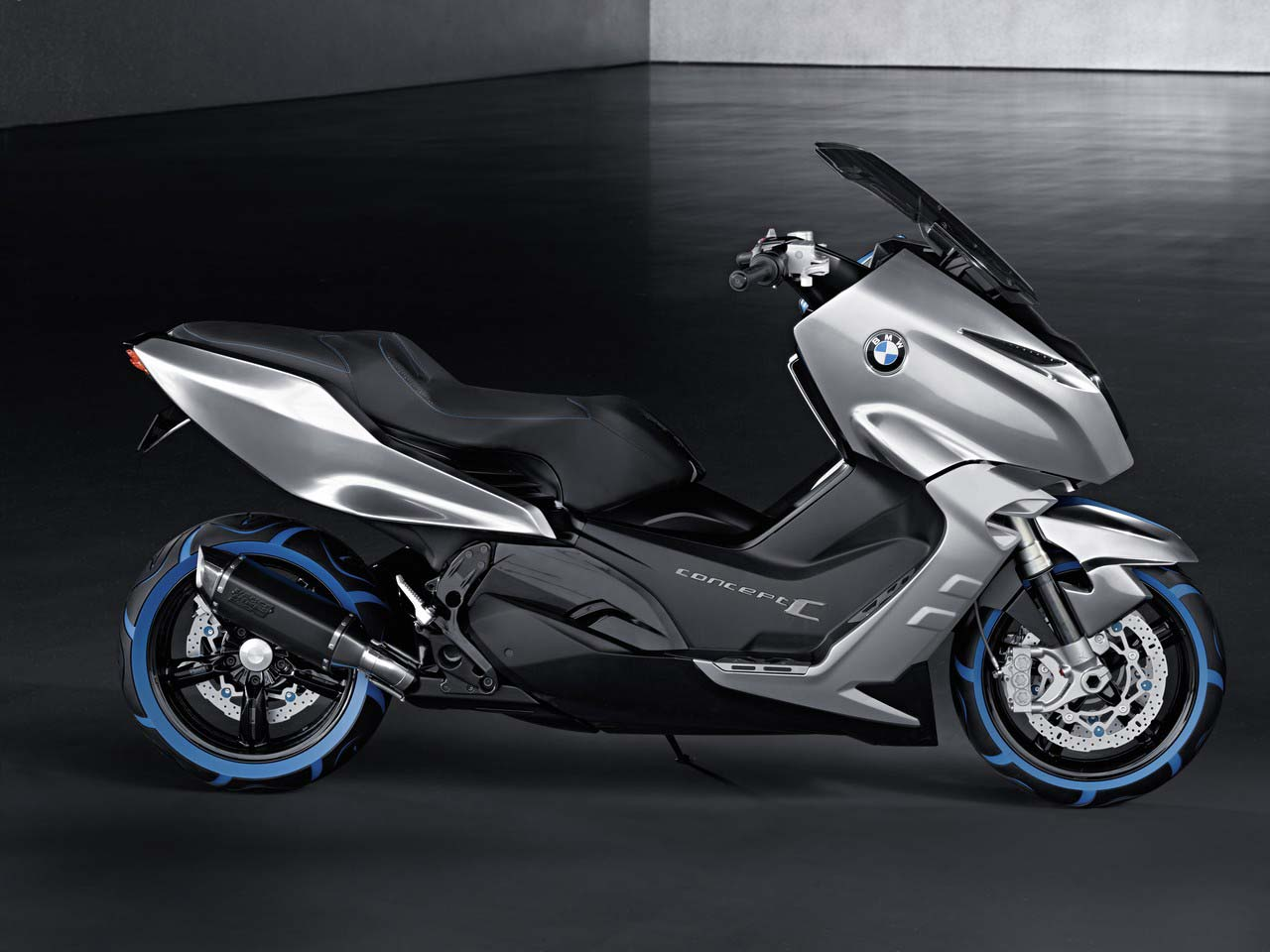 Bmw Concept C Making Scooters Look Cool Asphalt Amp Rubber