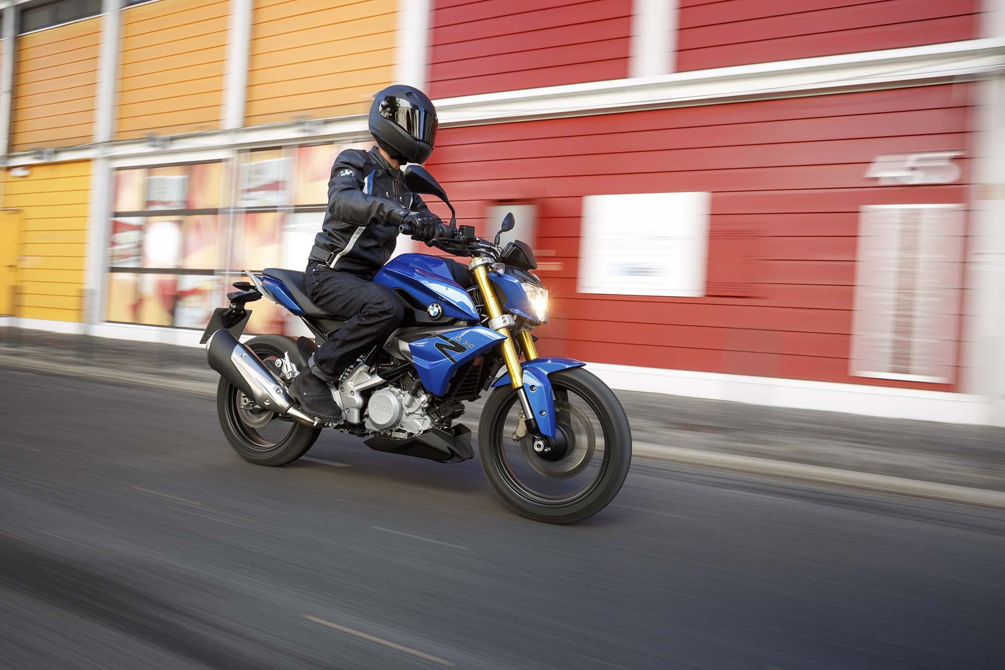 Мотоцикл BMW G 310 R - Avto-Russia.ru