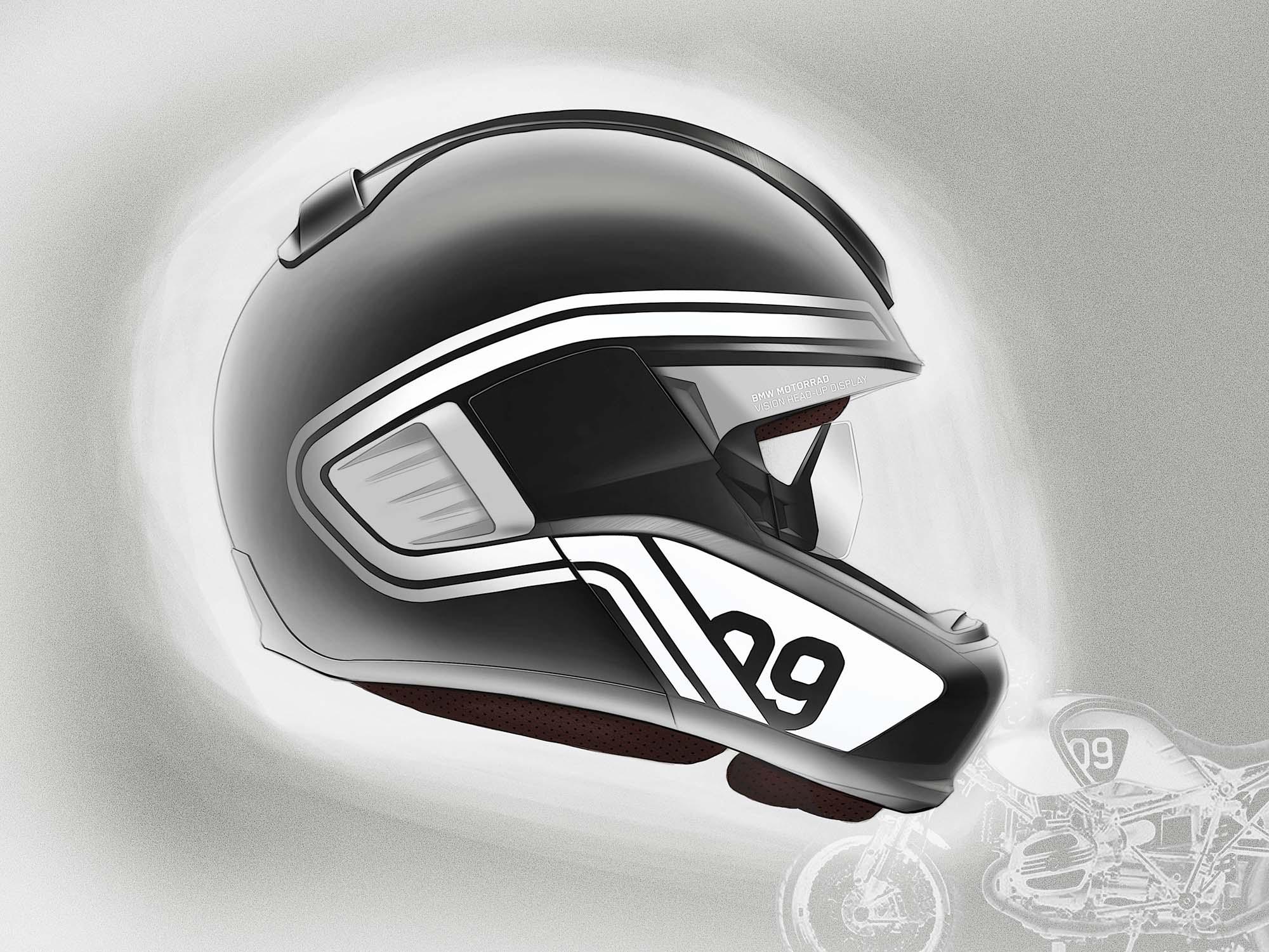 Bmw Developing Hud Motorcycle Helmet