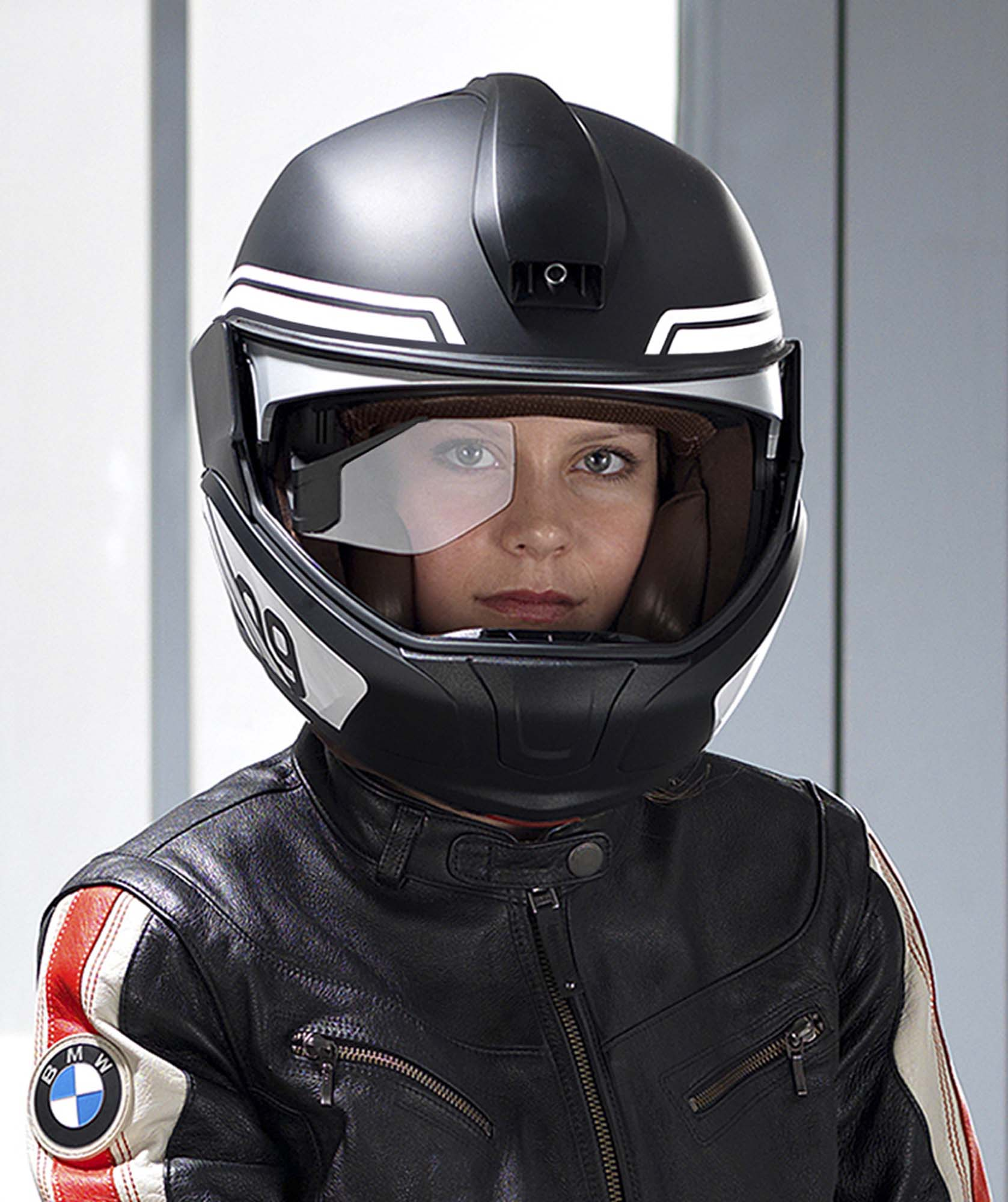 bmw developing hud motorcycle helmet. Black Bedroom Furniture Sets. Home Design Ideas