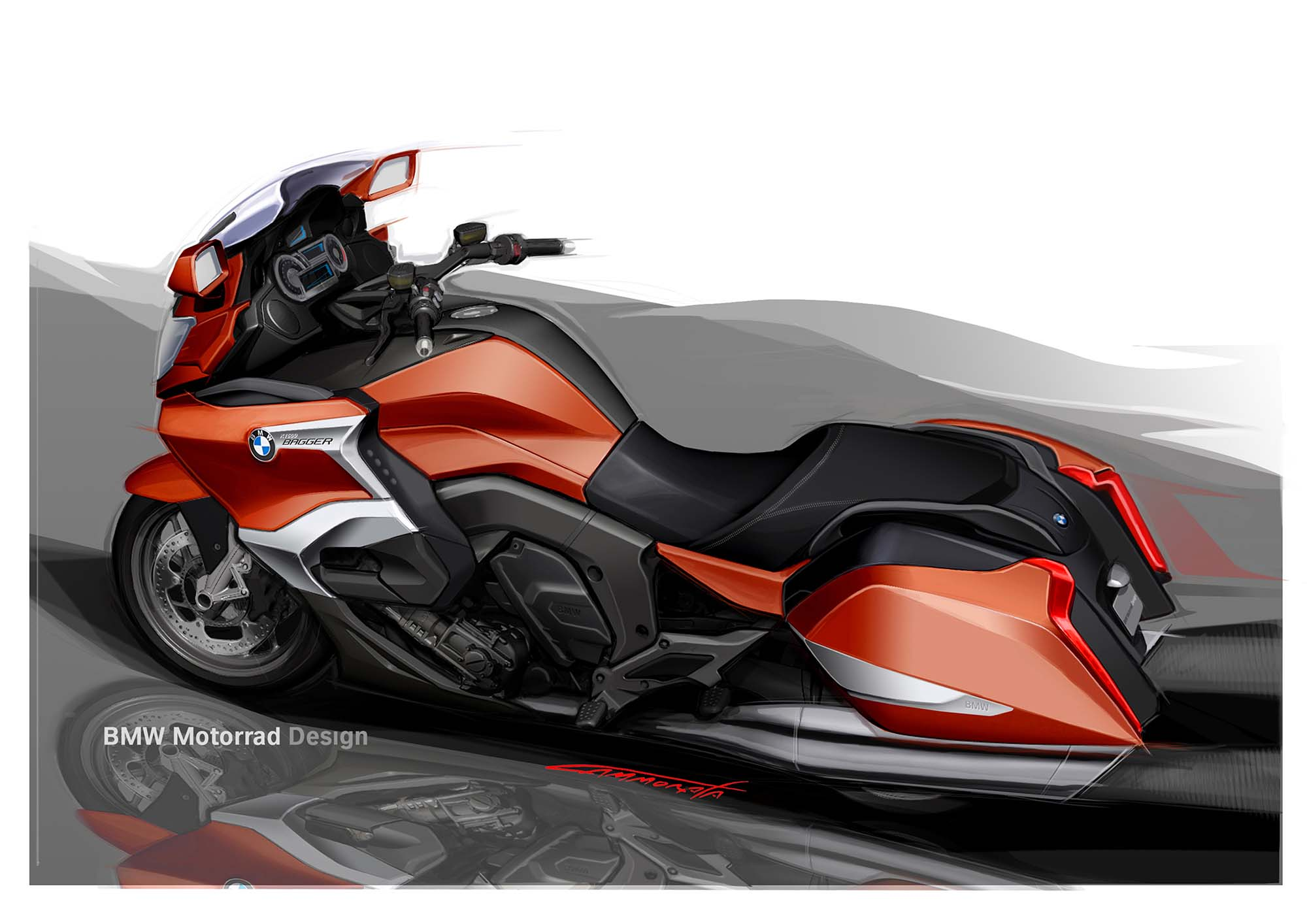 BMW K1600B - Germany's Six-Cylinders of Bagger