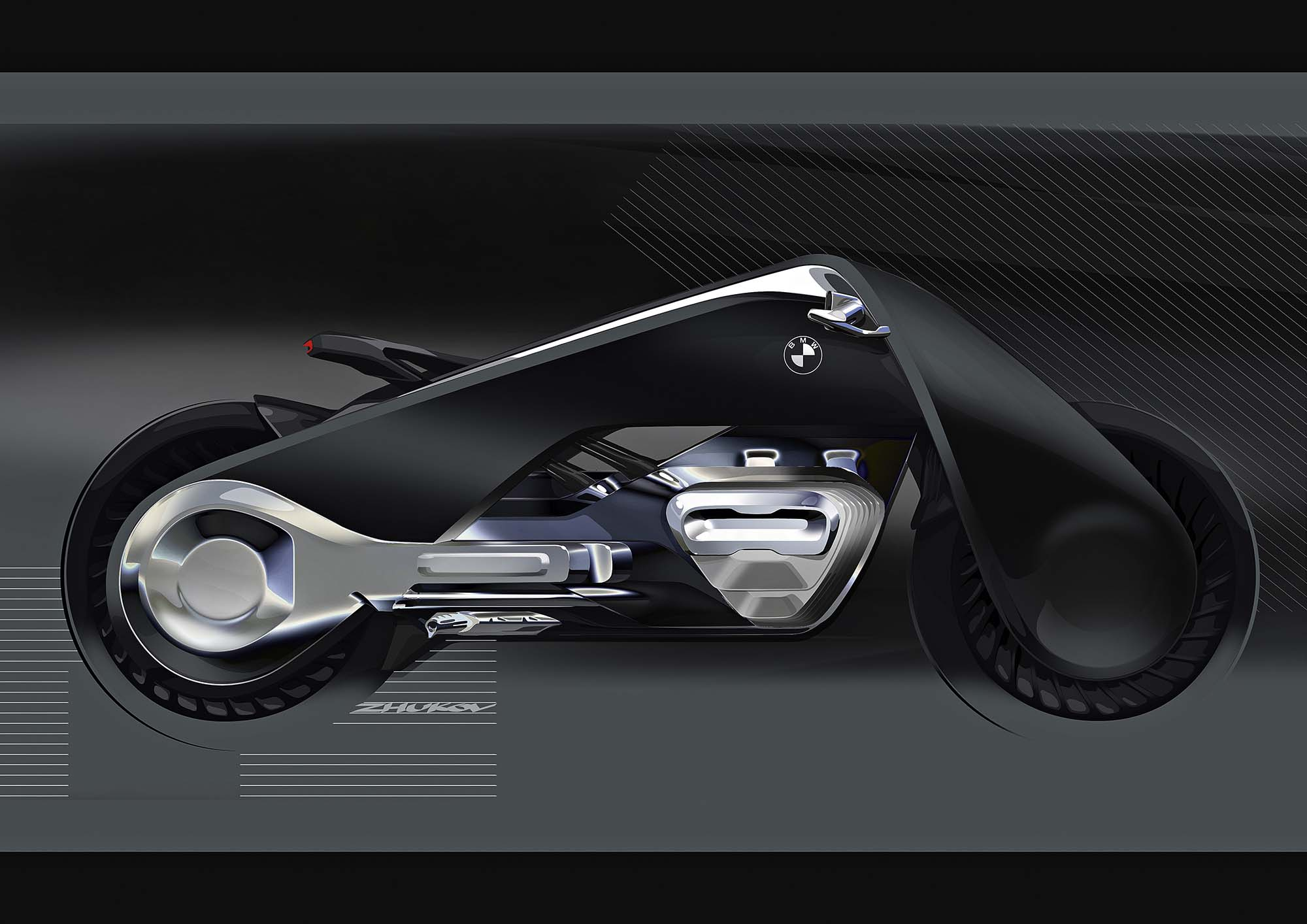 bmw vision next 100 concept is the future of motorcycles. Black Bedroom Furniture Sets. Home Design Ideas