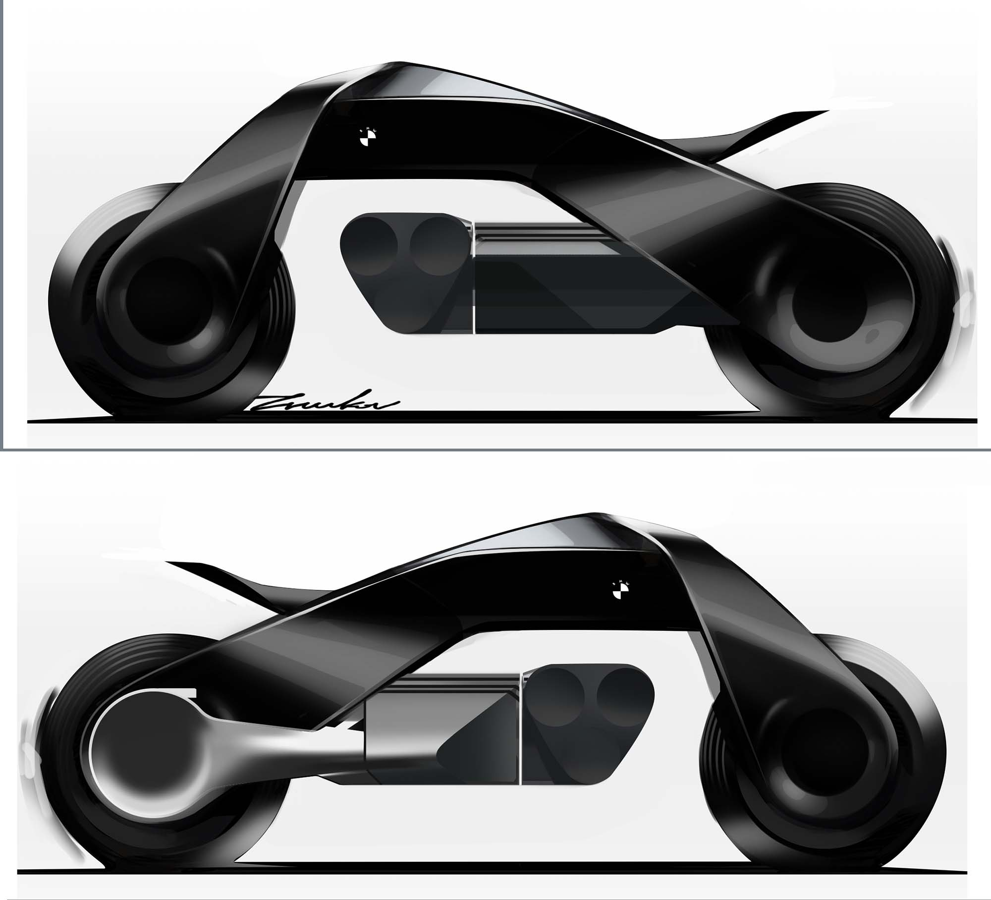 Powerslide Next 100 Review: BMW VISION NEXT 100 Concept Is The Future Of Motorcycles