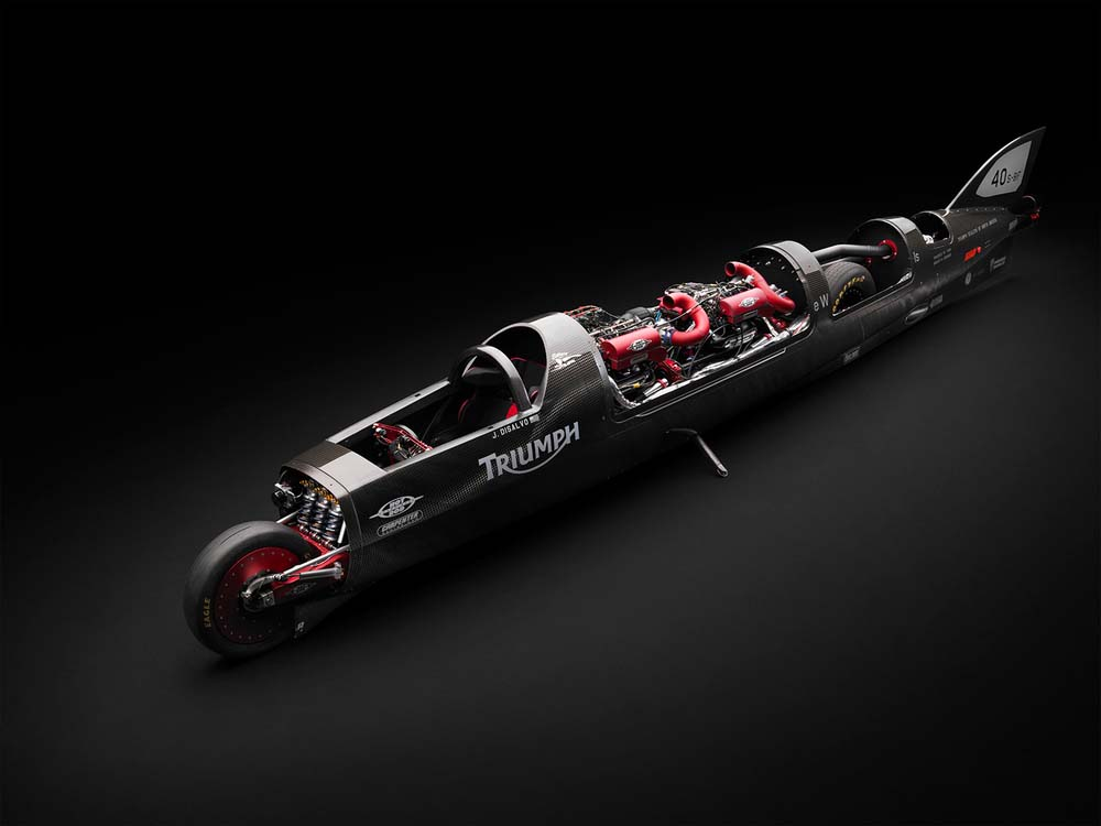 Triumph Again Looking to Break 400 MPH at Bonneville 91bb369111c
