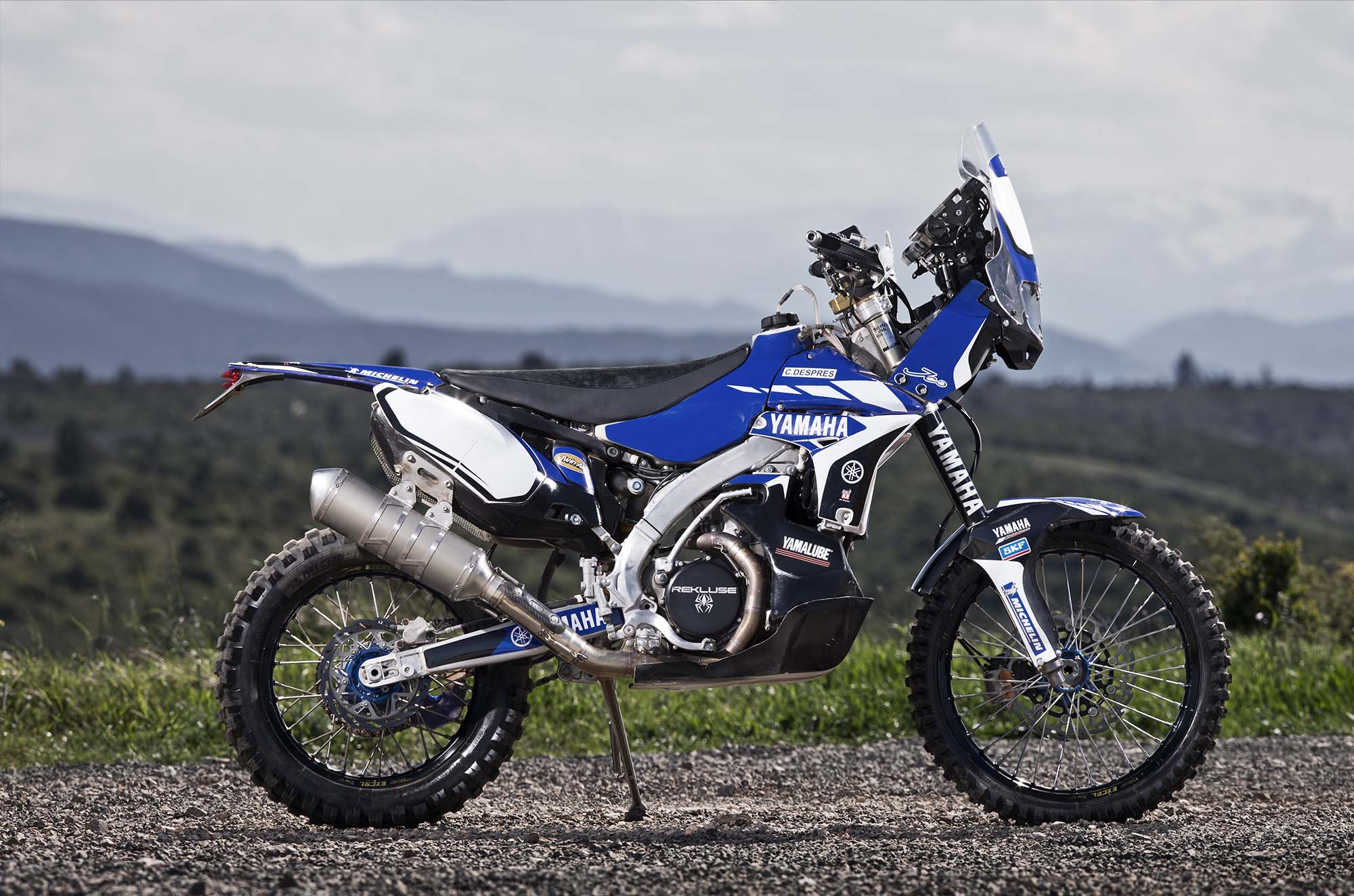 cyril despres will ride with yamaha in the 2014 dakar rally asphalt rubber. Black Bedroom Furniture Sets. Home Design Ideas