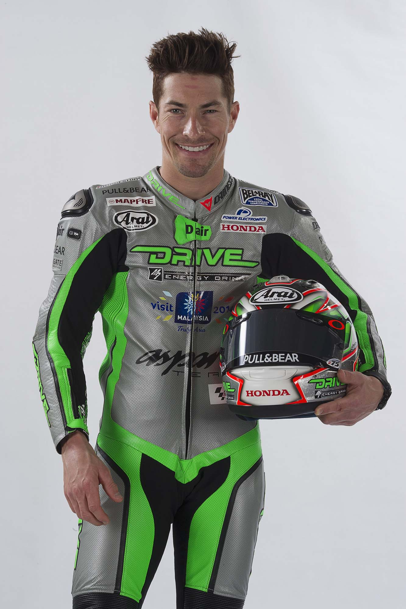 Nicky Hayden's Drive M7 Aspar Team MotoGP Livery - Asphalt & Rubber