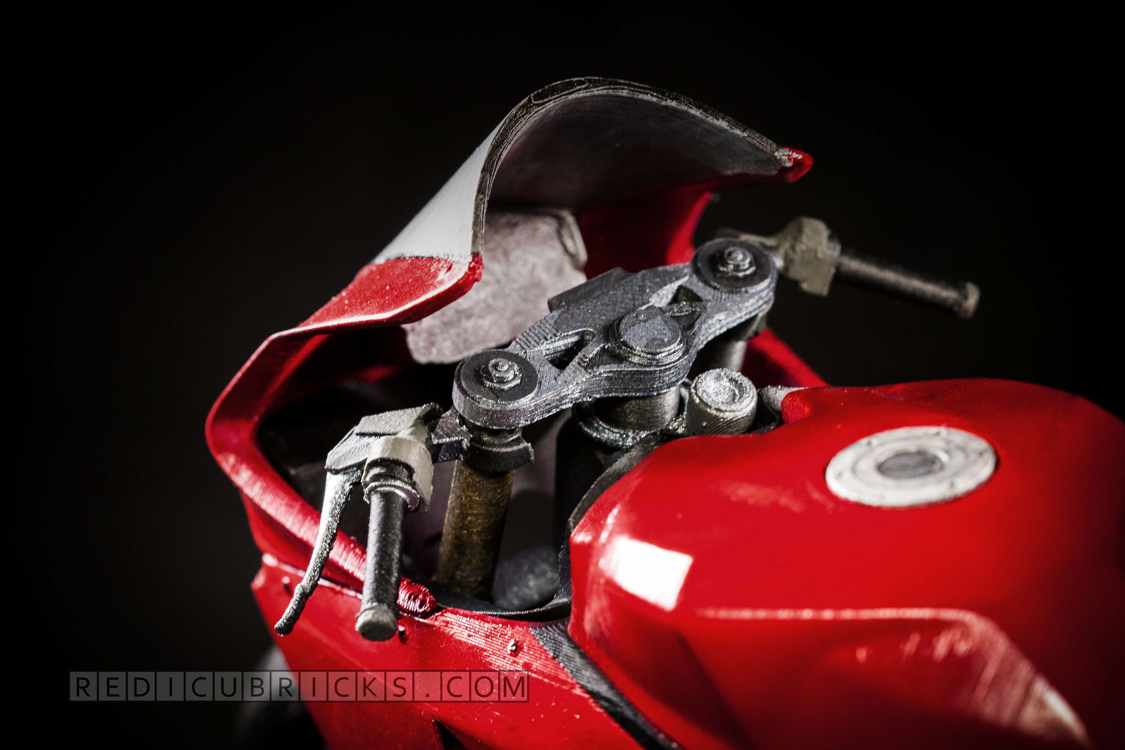 Print Out Your Own Ducati 1199 Panigale Motorcycle