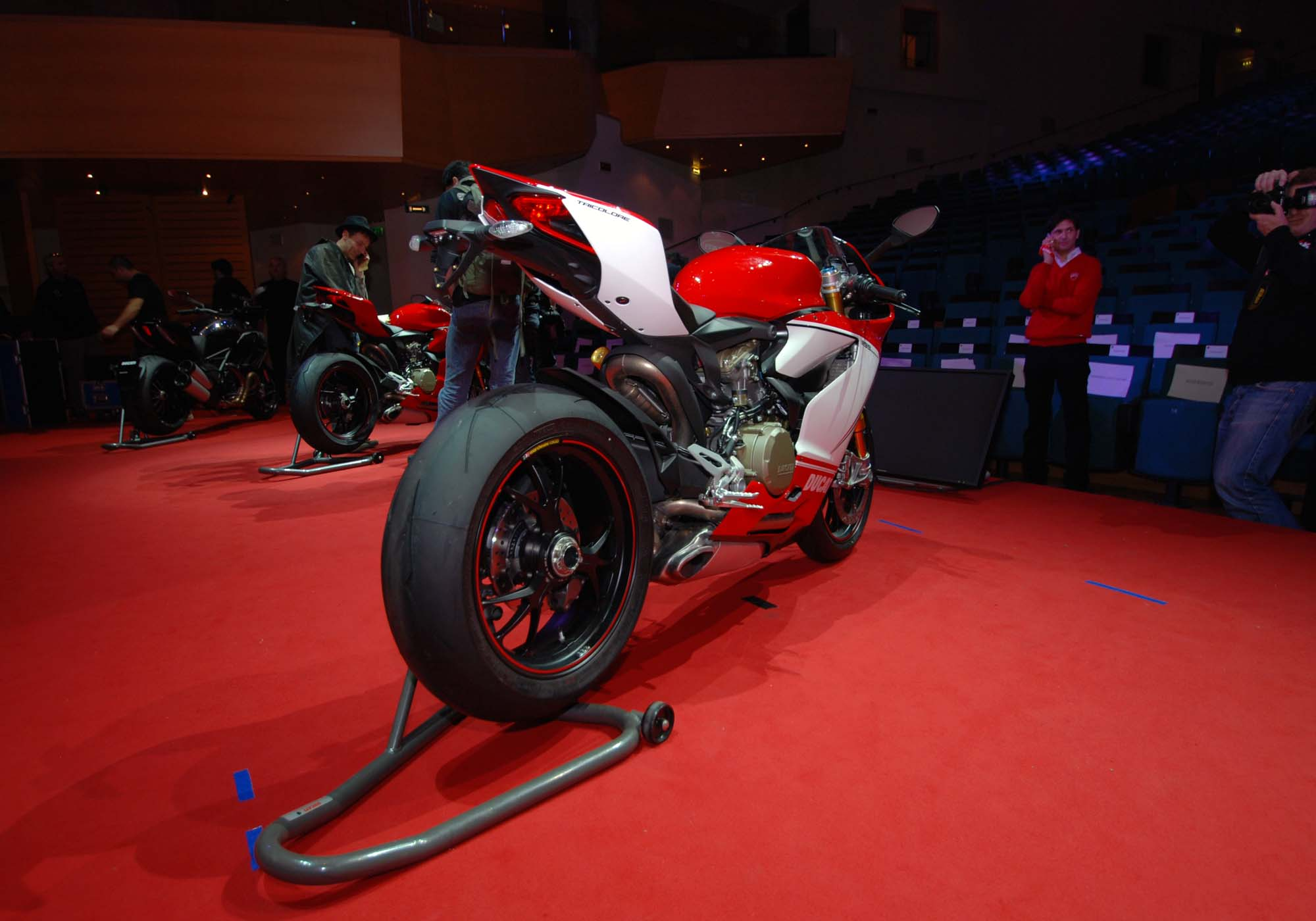 Up-Close with the Ducati 1199 Panigale S Tricolore - Asphalt & Rubber