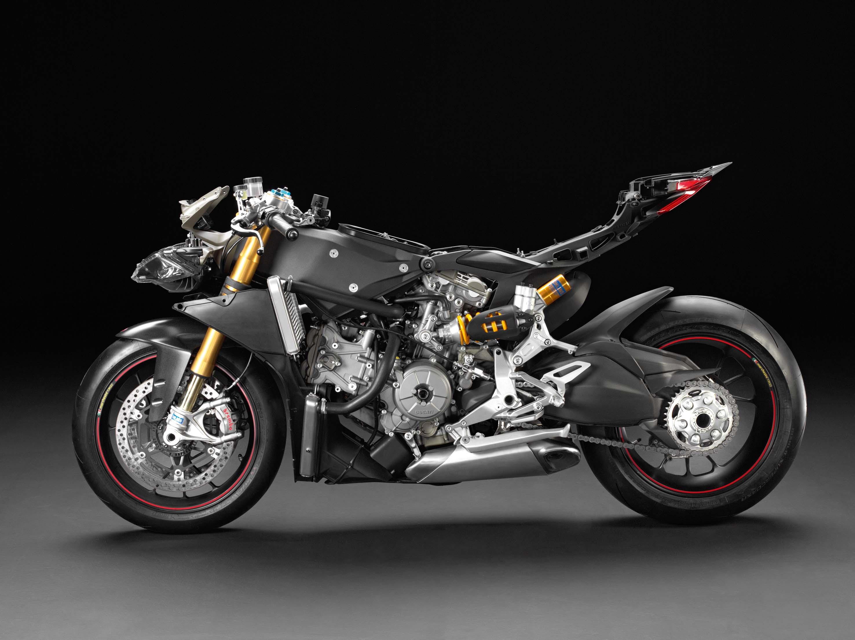 Photos Underneath The Ducati 1199 Panigale S Fairings