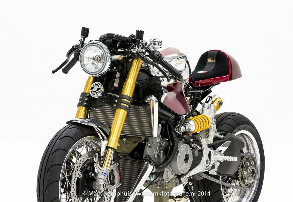 Ducati Elite Ii Caf 233 Racer By Moto Puro Asphalt Amp Rubber
