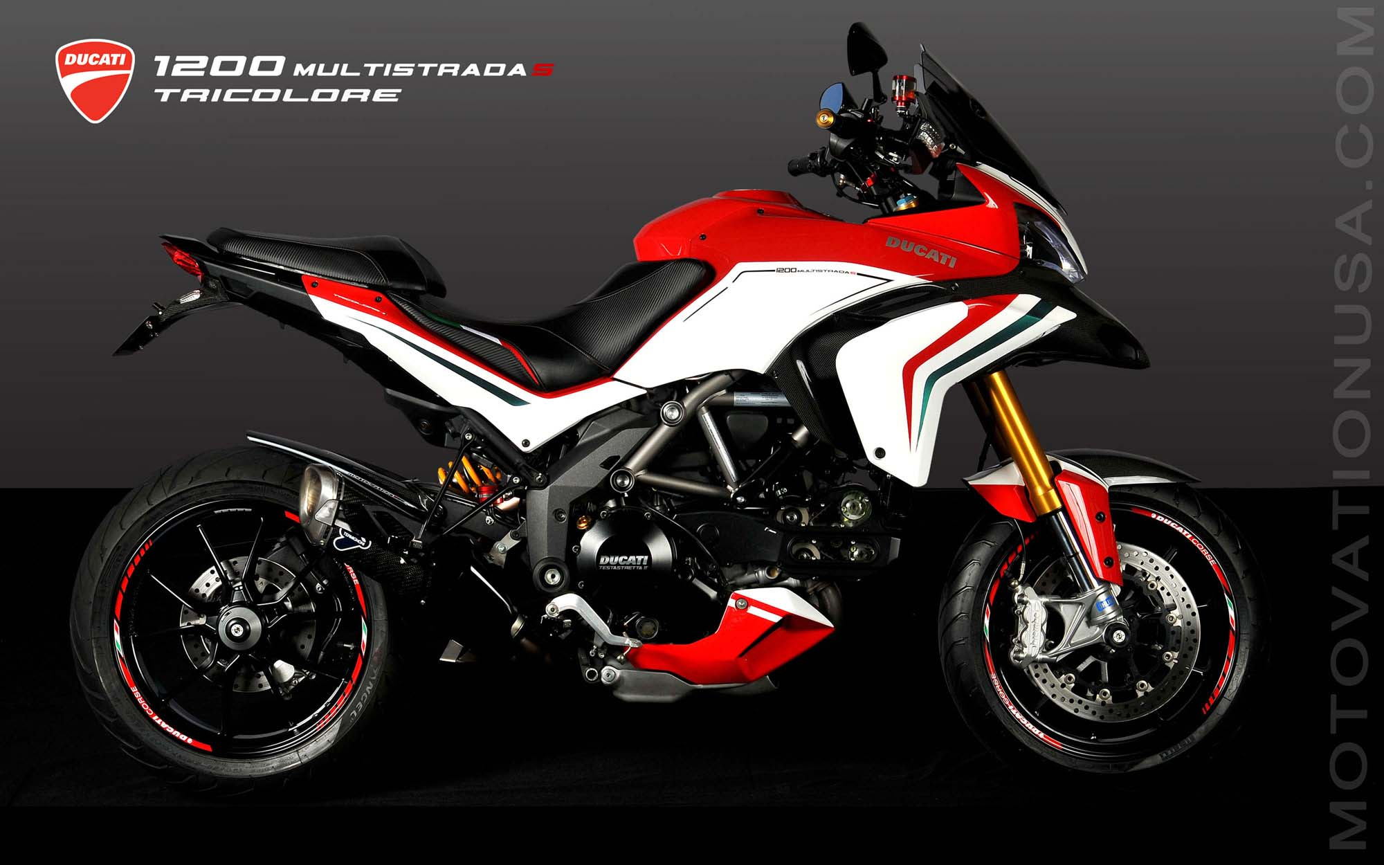 Ducati Multistrada 1200 S Tricolore By Motovation