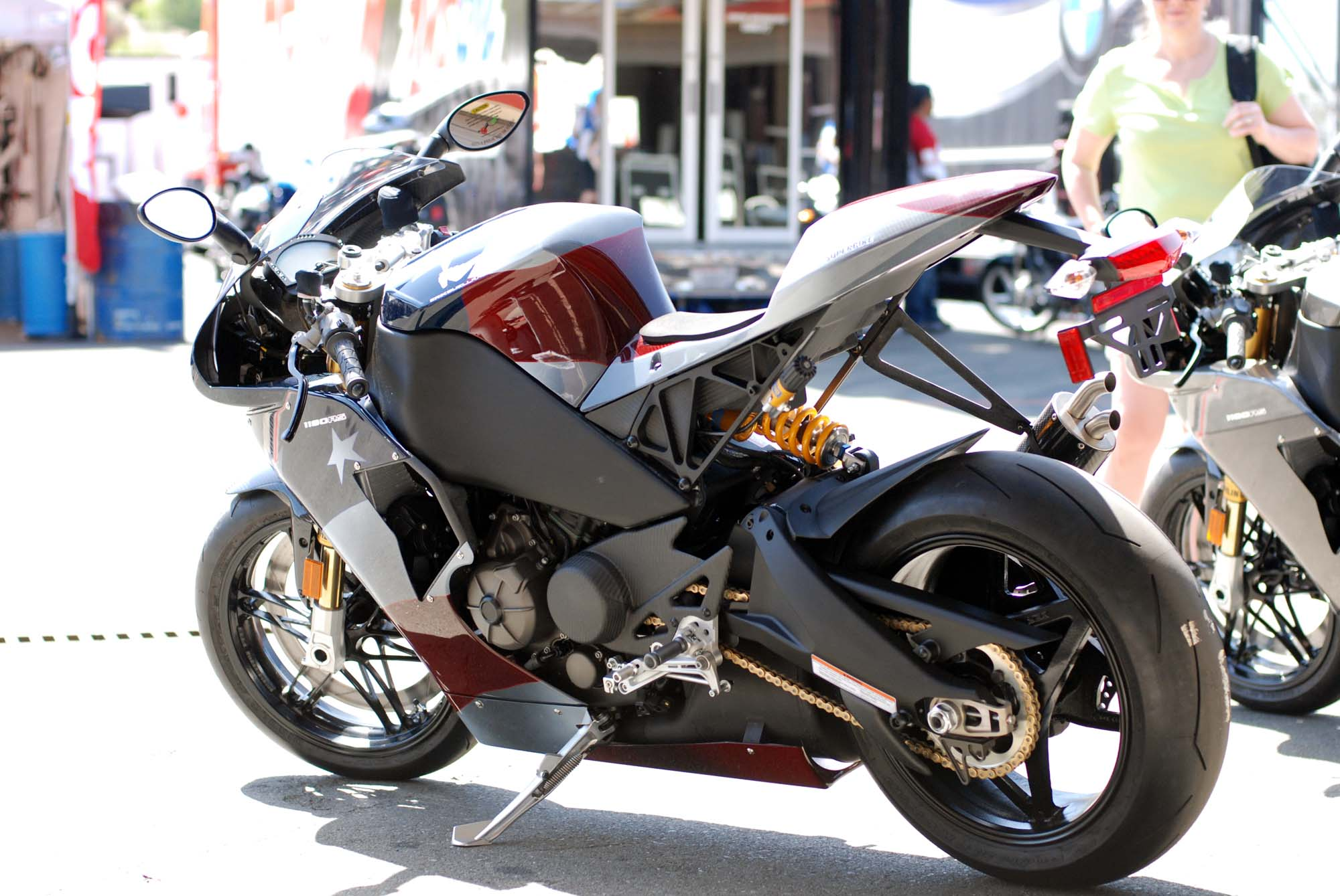 Up Close With The Erik Buell Racing 1190rs Merica Edition
