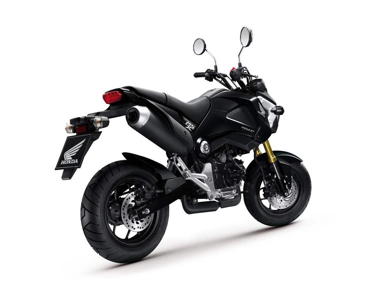 more photos of the honda msx125 asphalt rubber. Black Bedroom Furniture Sets. Home Design Ideas