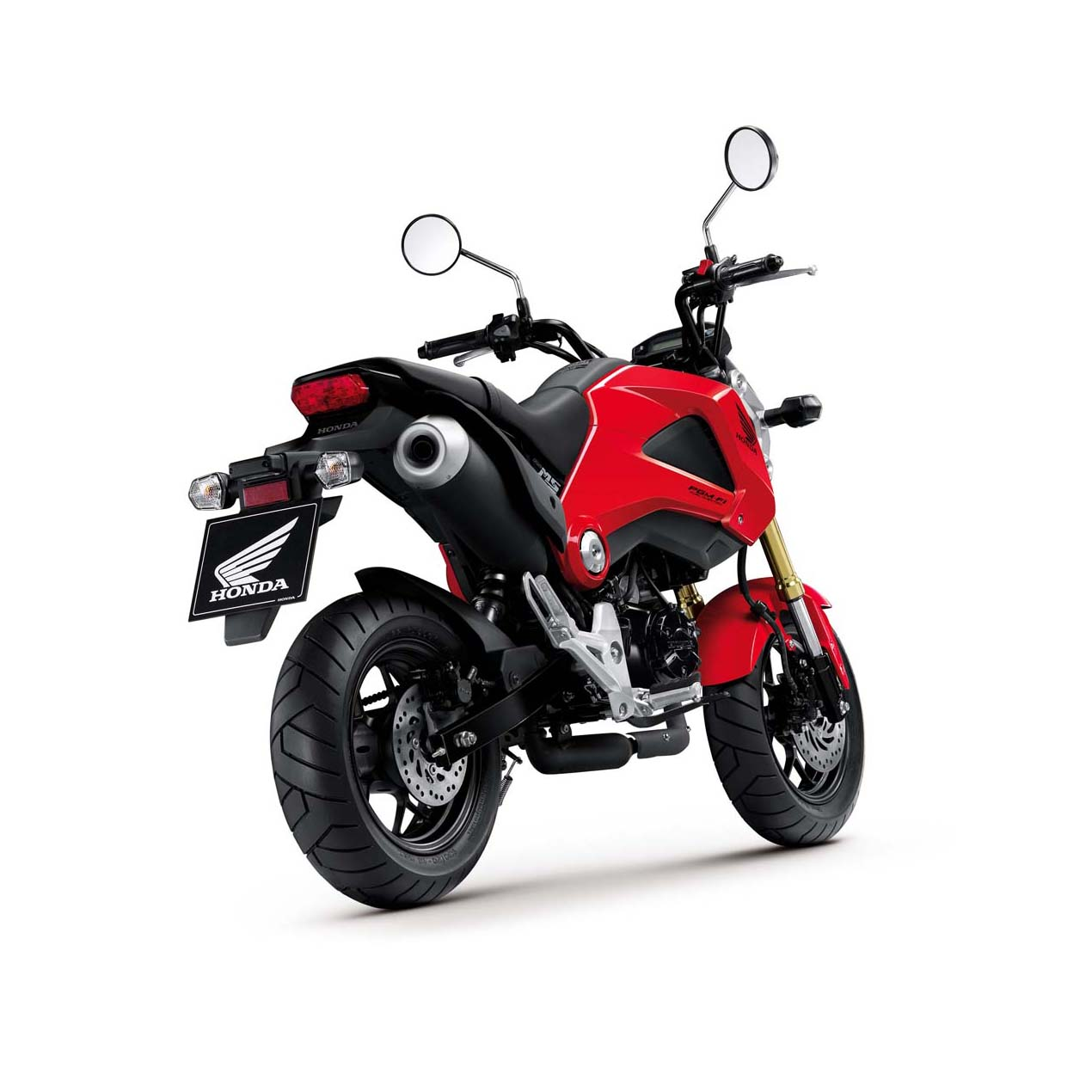 Say Hello To The 2013 Honda Grom Asphalt Amp Rubber