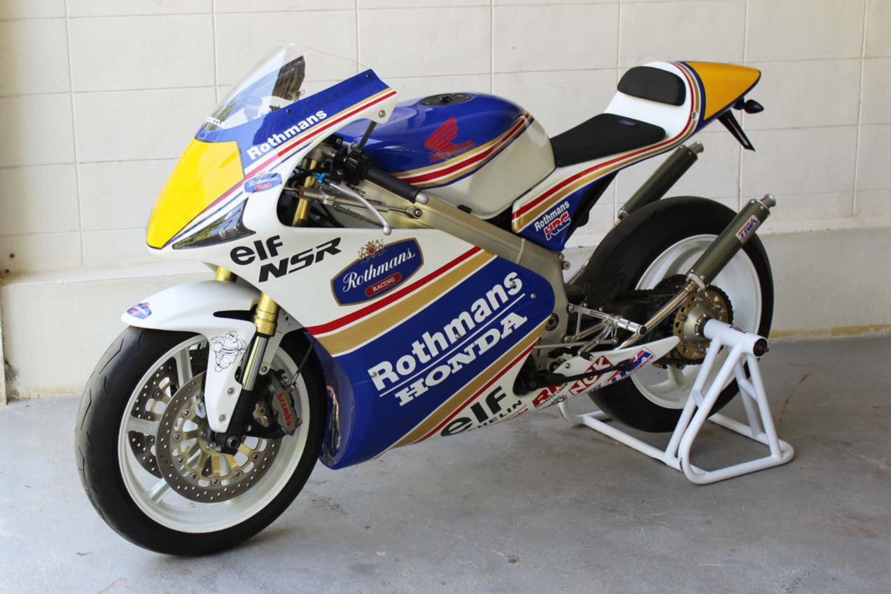 is this what a modern honda nsr250r would look like   asphalt amp rubber