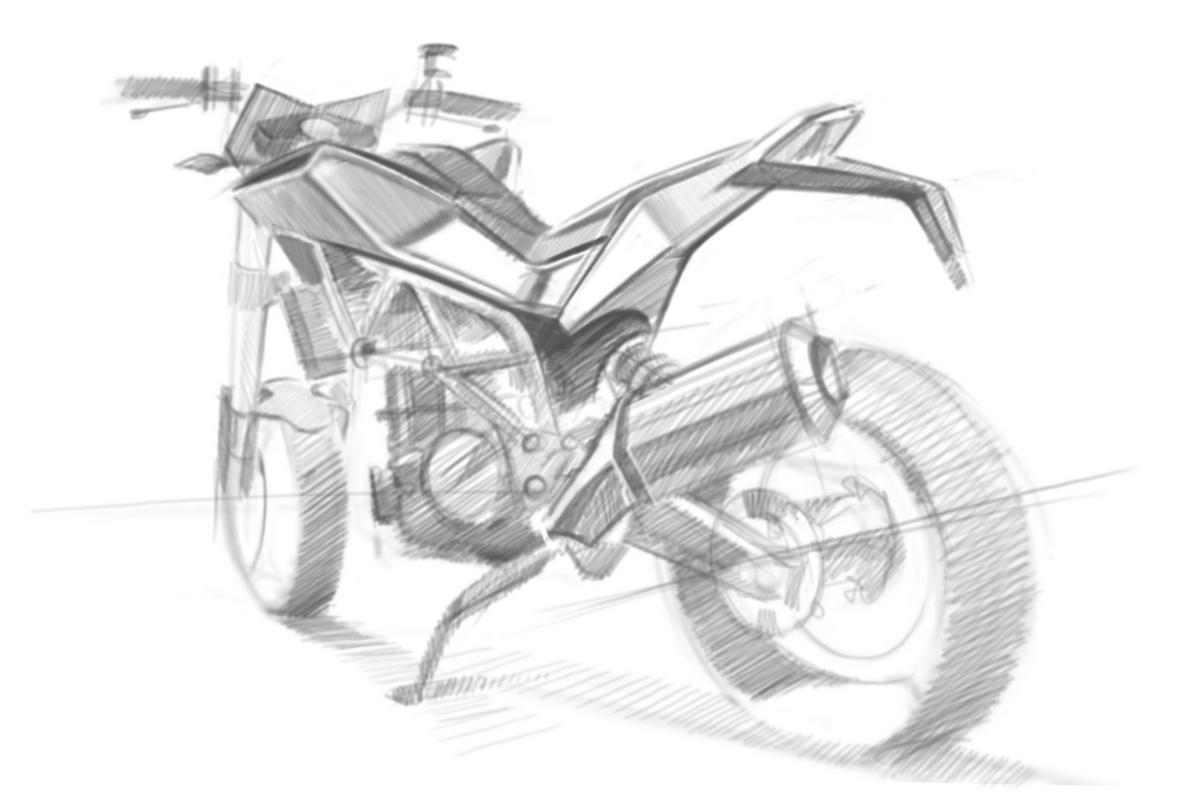 Street Bike Drawings Husqvarna-street-bike-sketches