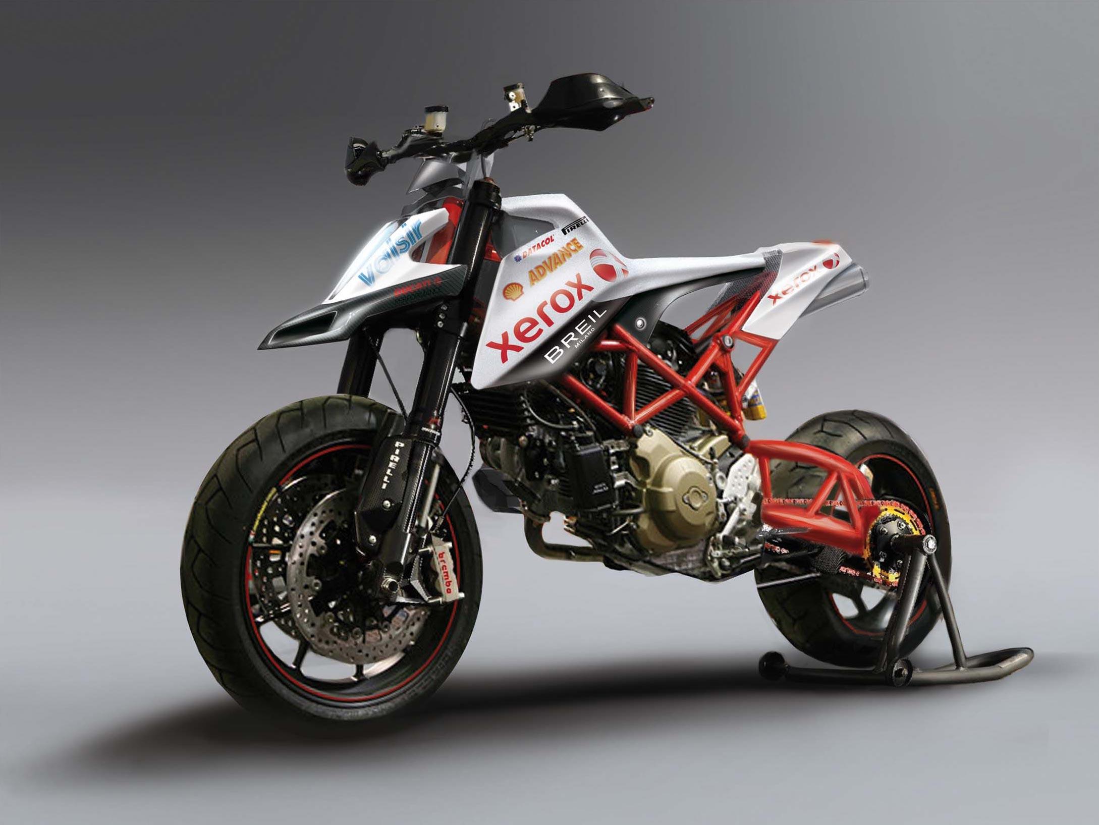 Ducati Extended Swingarm