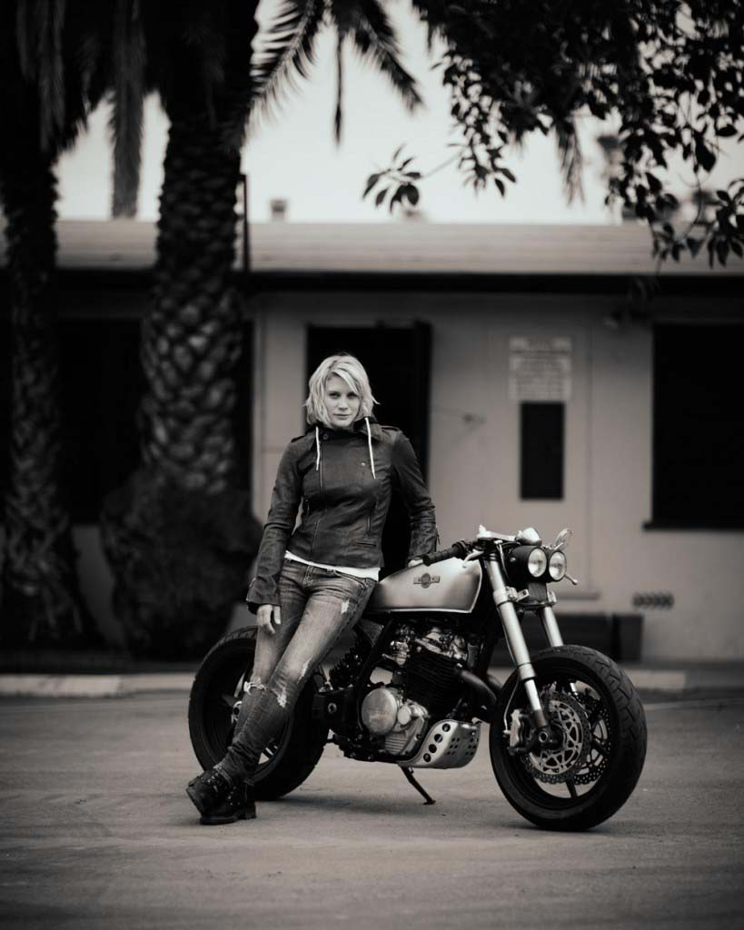 Classified moto kt600 the garage cafe - Katee Sackhoff Classified Moto Kt600 Custom 11
