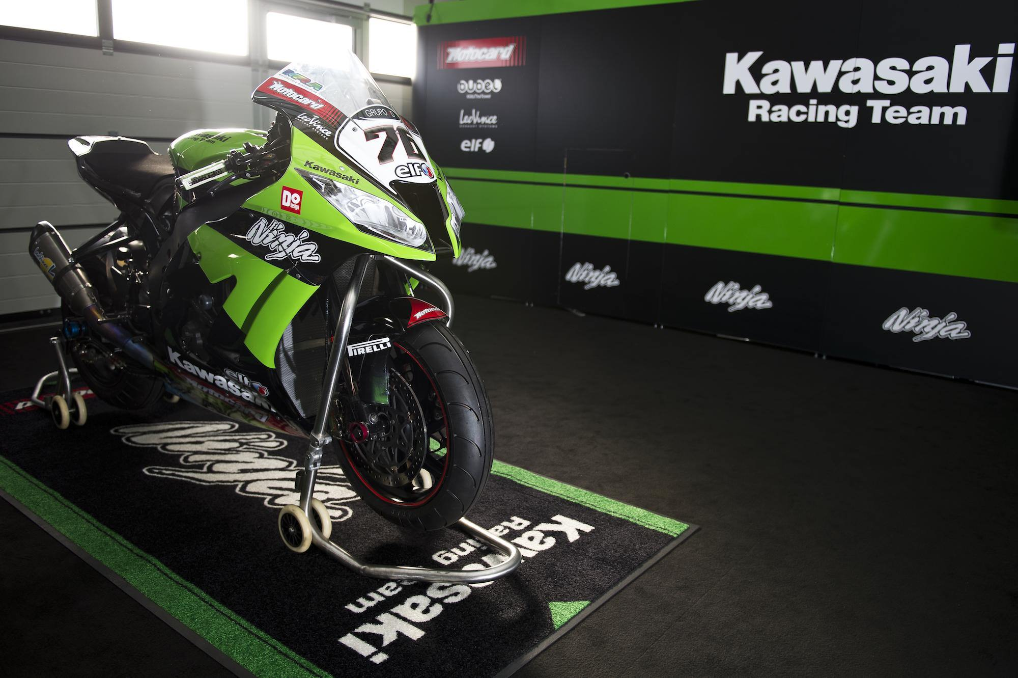 Kawasaki Motorcycle Racing Logo