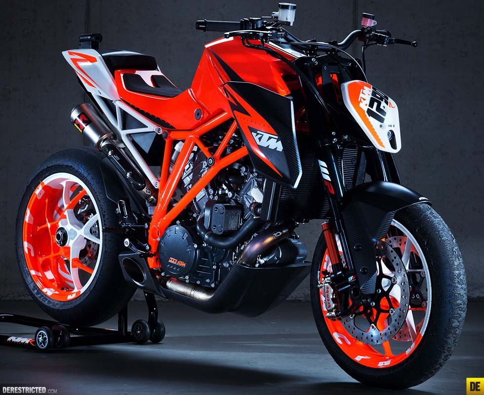 ktm 1290 super duke r prototype concept bike asphalt rubber. Black Bedroom Furniture Sets. Home Design Ideas