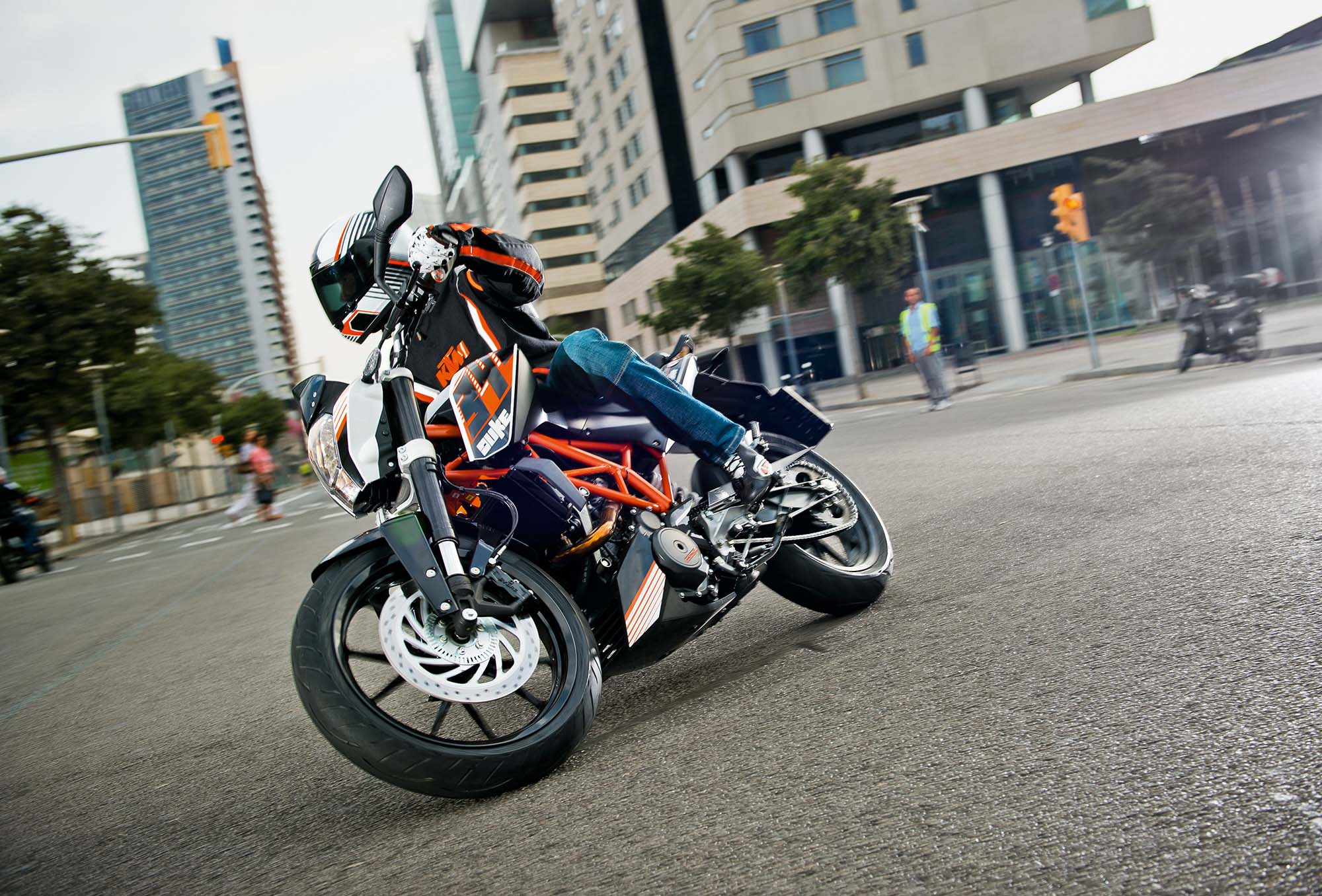 Ktm Duke 390 Stunts Hd