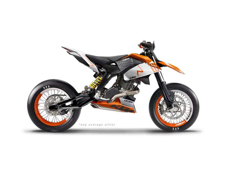 ktm supermoto concept by anyaverageartist asphalt rubber. Black Bedroom Furniture Sets. Home Design Ideas
