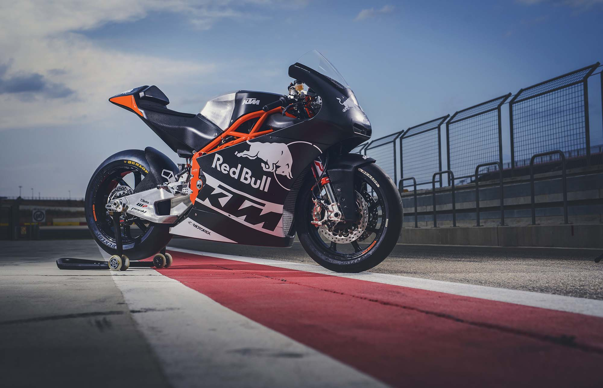 More of the Sexiness That Is the KTM Moto2 Race Bike