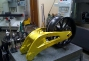 Lightning Motors Flying Banana Drops 150lbs, Adds 50hp thumbs lightning motors swingarm yellow