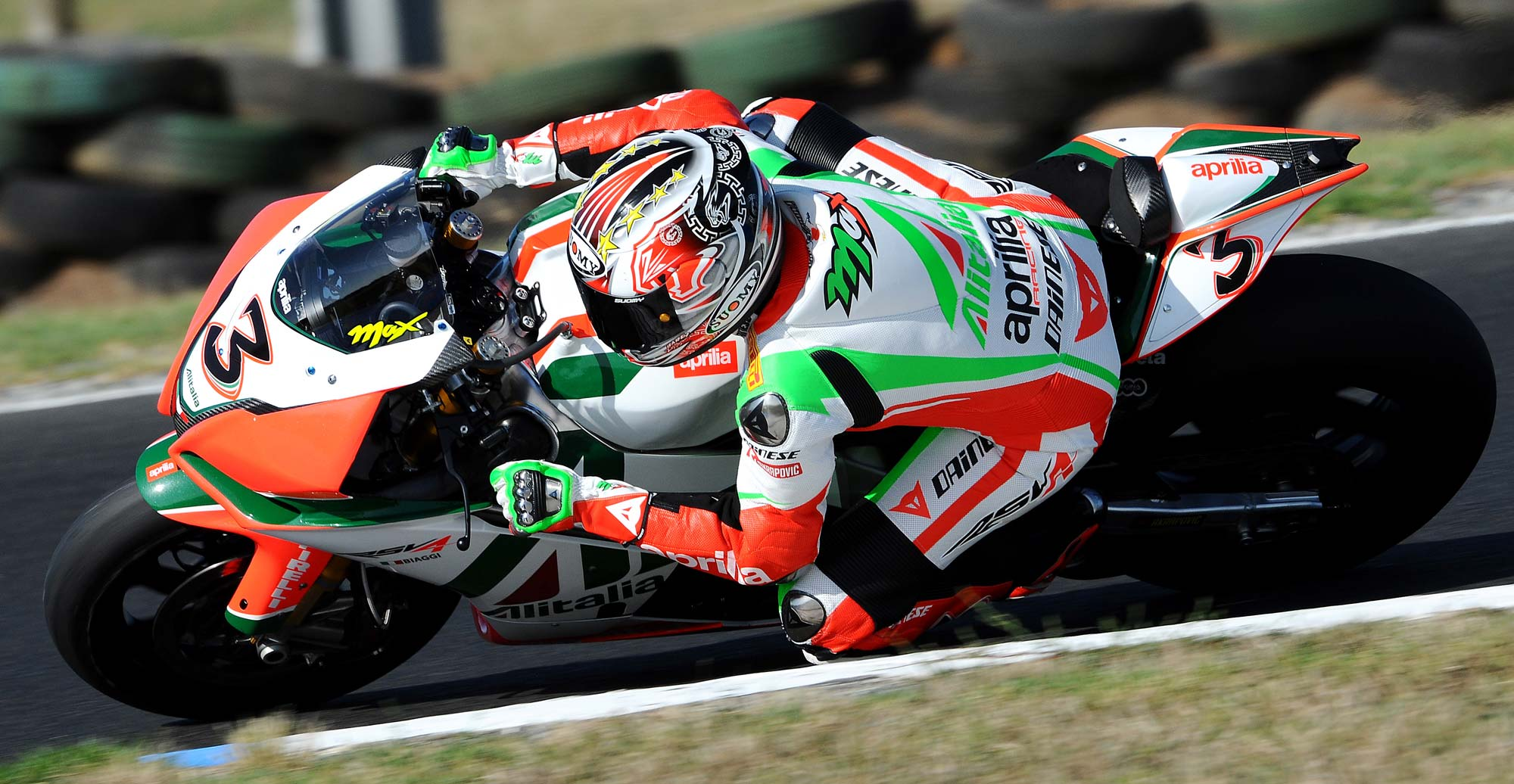 Max biaggi signs with aprilia for another two years asphalt rubber max biaggi wsbk world championship aprilia 3 altavistaventures Gallery