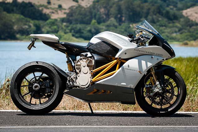 Mission Motors R Test Ride 32