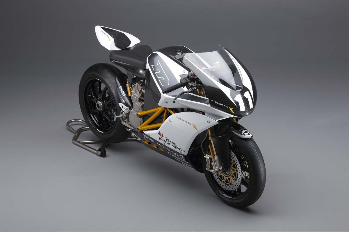 Mission R Electric Superbike Breaks Cover Asphalt Amp Rubber