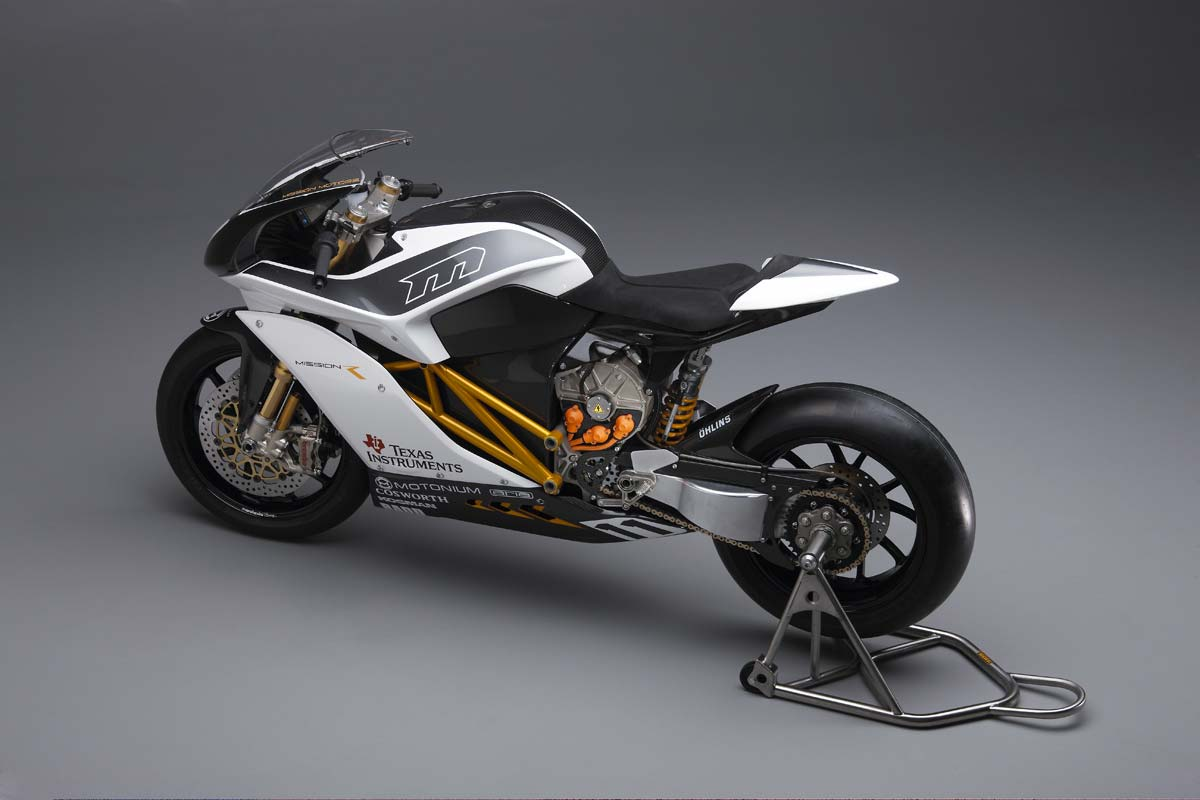 Mission R Electric Superbike Breaks Cover