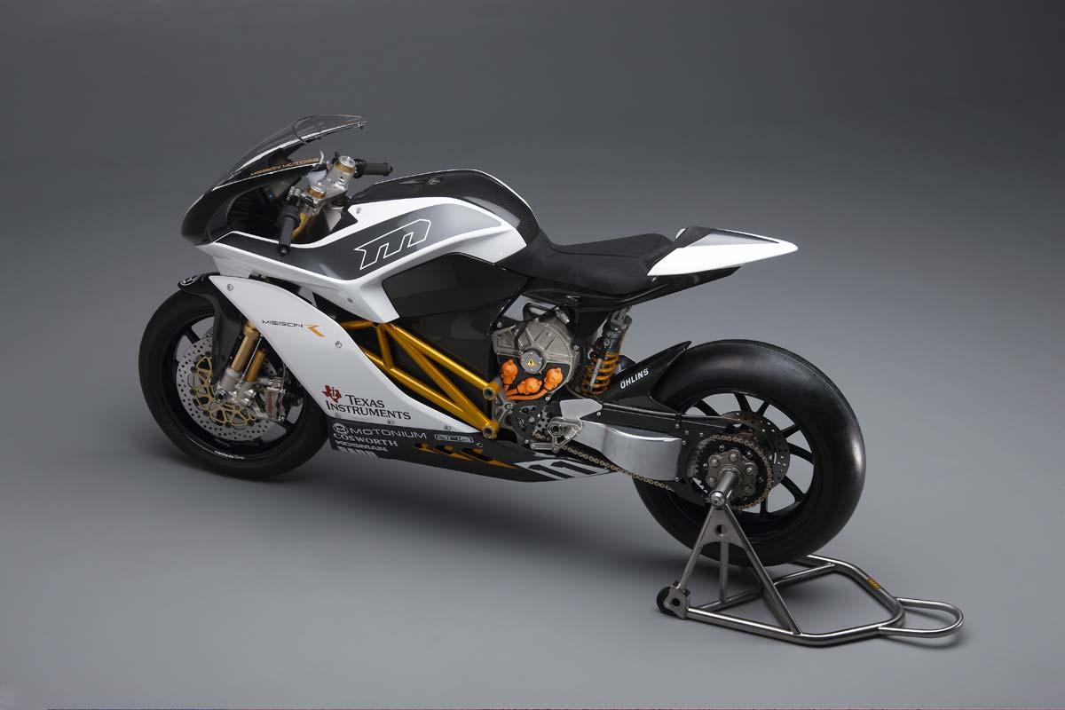 Mission R Electric Superbike Breaks Cover Asphalt Amp Rubber