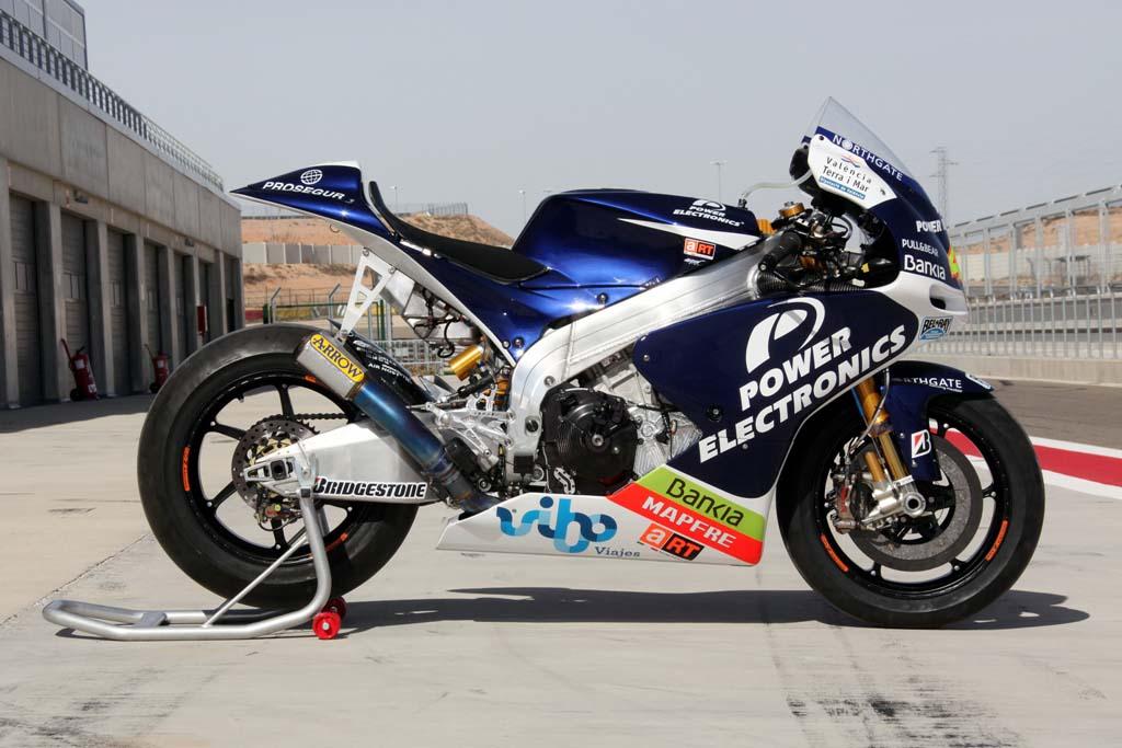 Aspar Racing S Aprilia Designed Crt Motogp Bike Asphalt