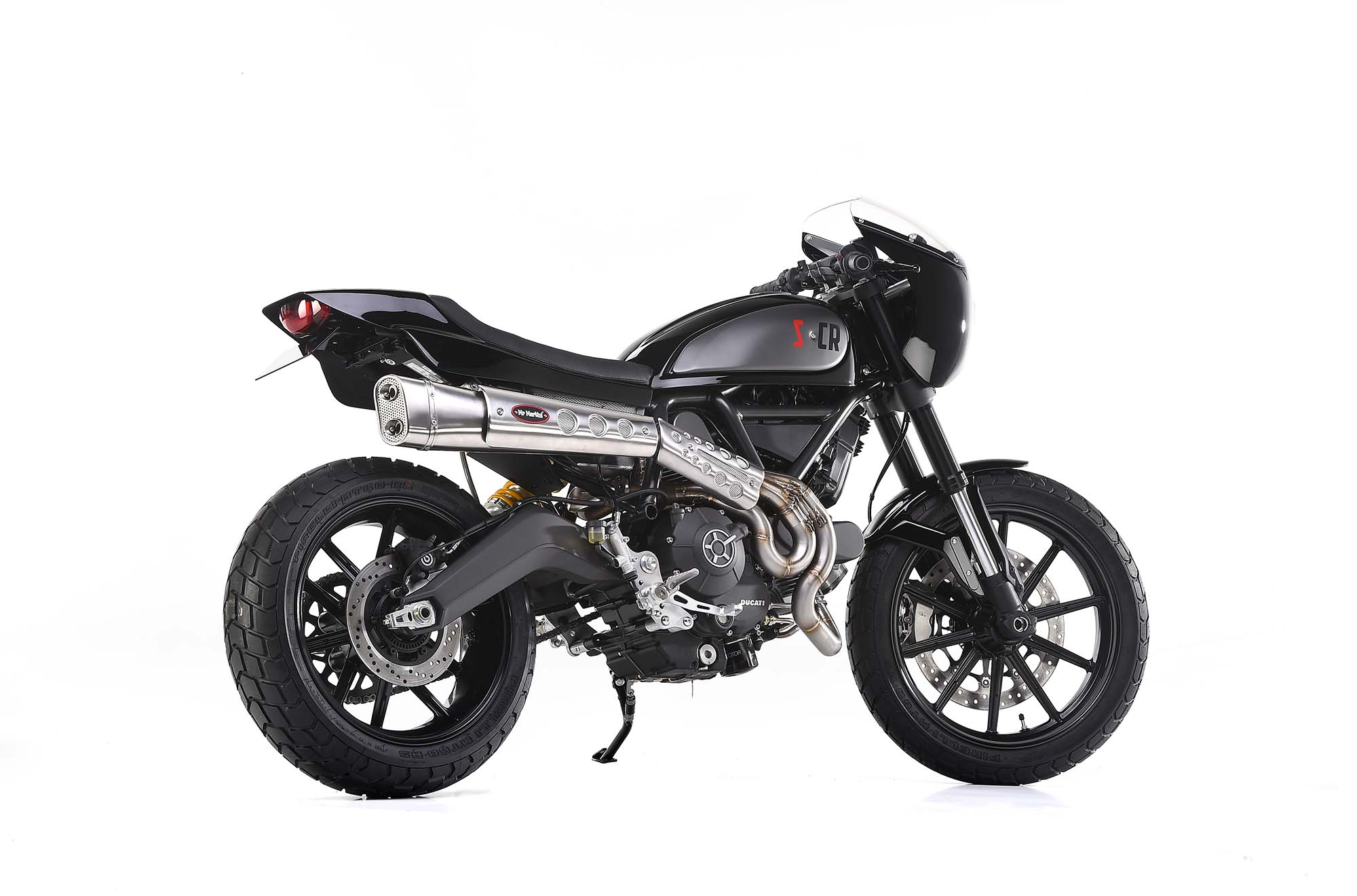 Quot Scrambler Caf 233 Racer Quot Ducati Scrambler By Mr Martini