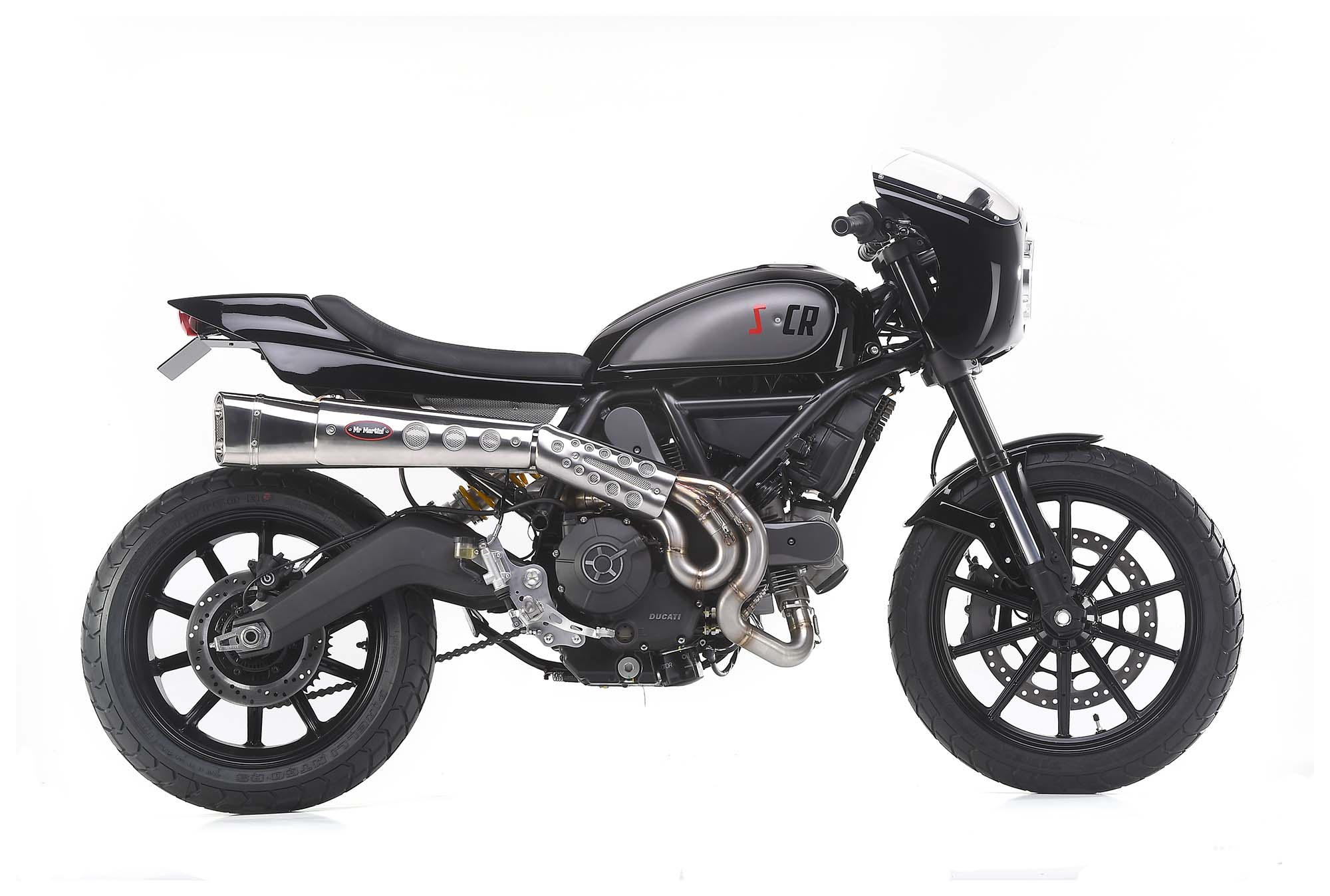 scrambler caf racer ducati scrambler by mr martini asphalt rubber. Black Bedroom Furniture Sets. Home Design Ideas