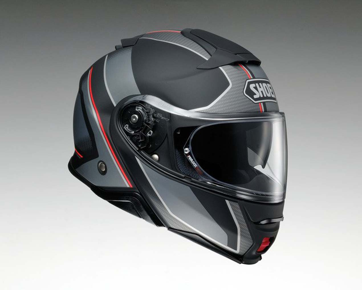 Gear Review Shoei Neotec Ii Modular Helmet Asphalt Amp Rubber