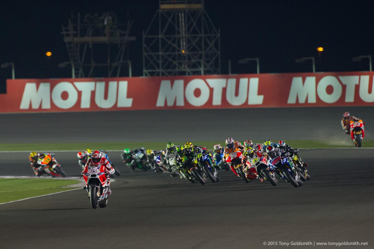 A&R StreetLevel: 2015 Qatar GP of the MotoGP Championship ...
