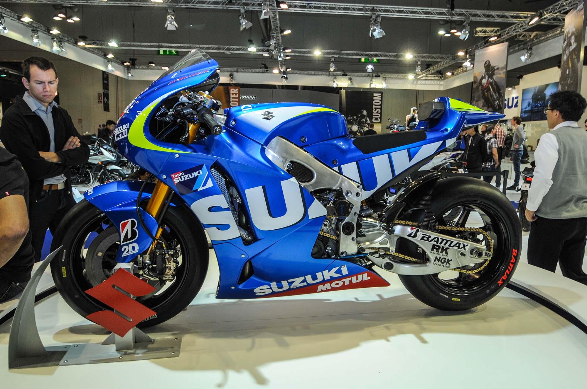 Big bike sticker design - Suzuki Motogp Race Bike Eicma 18