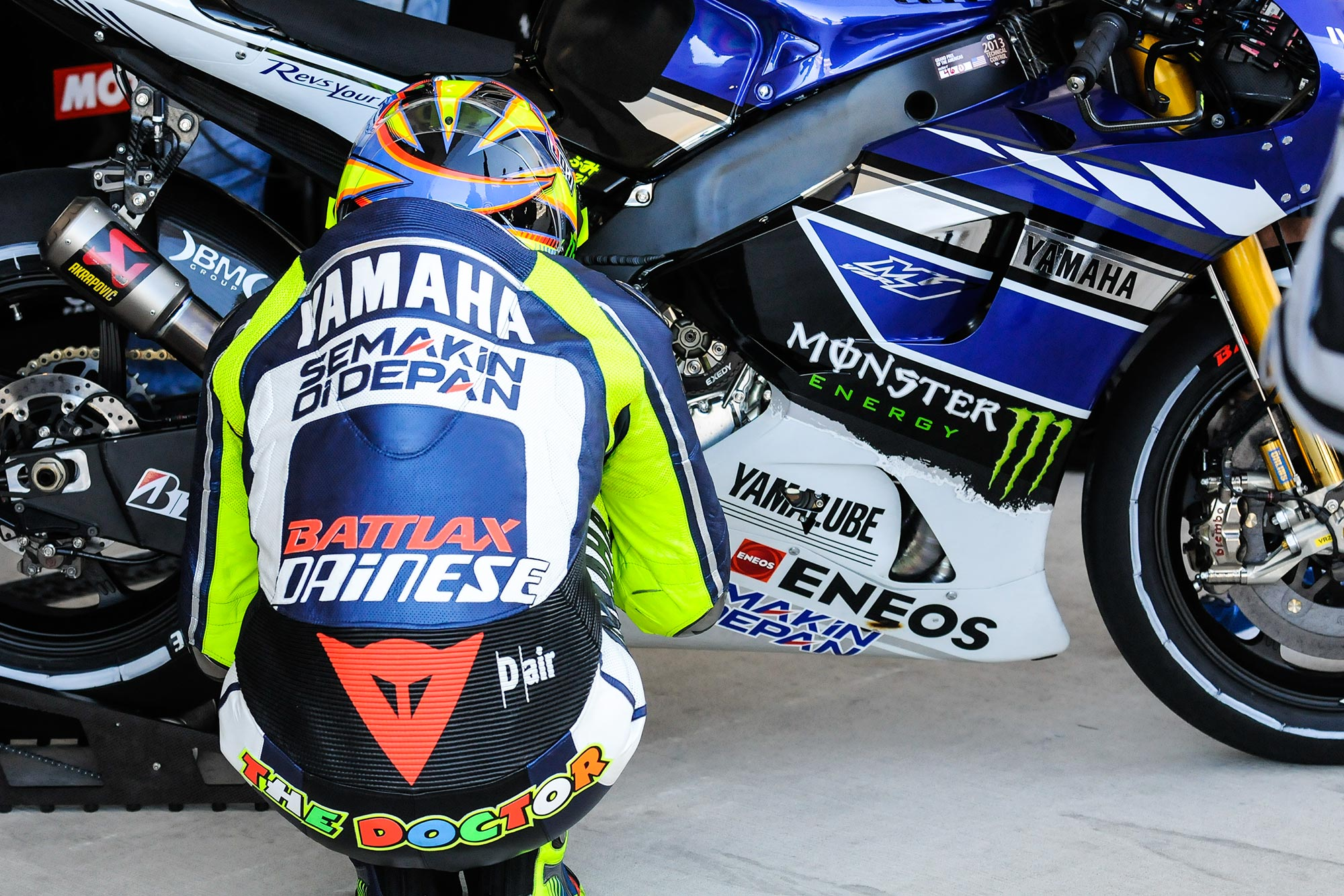 Up-Close with the 2013 Yamaha YZR-M1 - Asphalt & Rubber